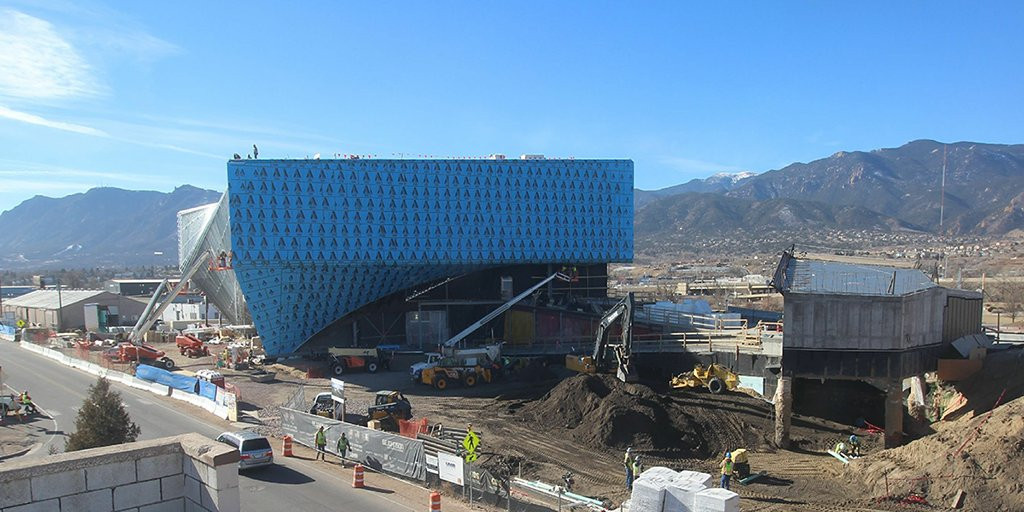 The US Olympic Museum in Colorado Springs is due to open before next year's Olympic Games ©Twitter
