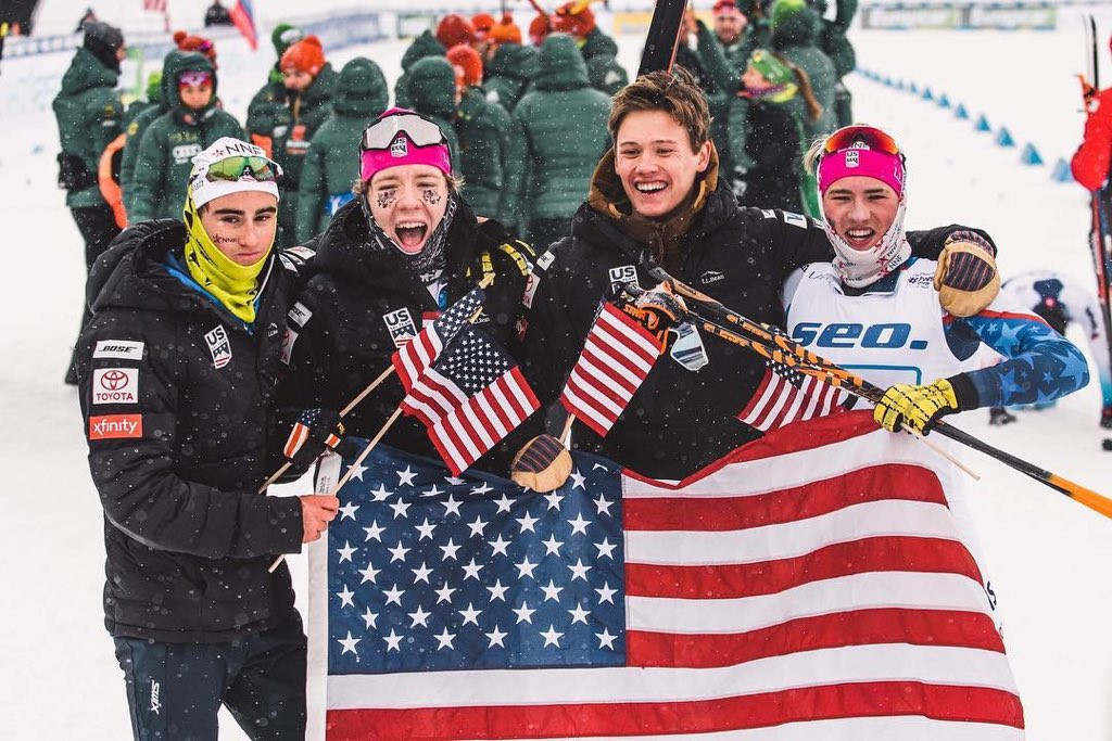 United States win first gold at FIS Nordic Junior World Championships