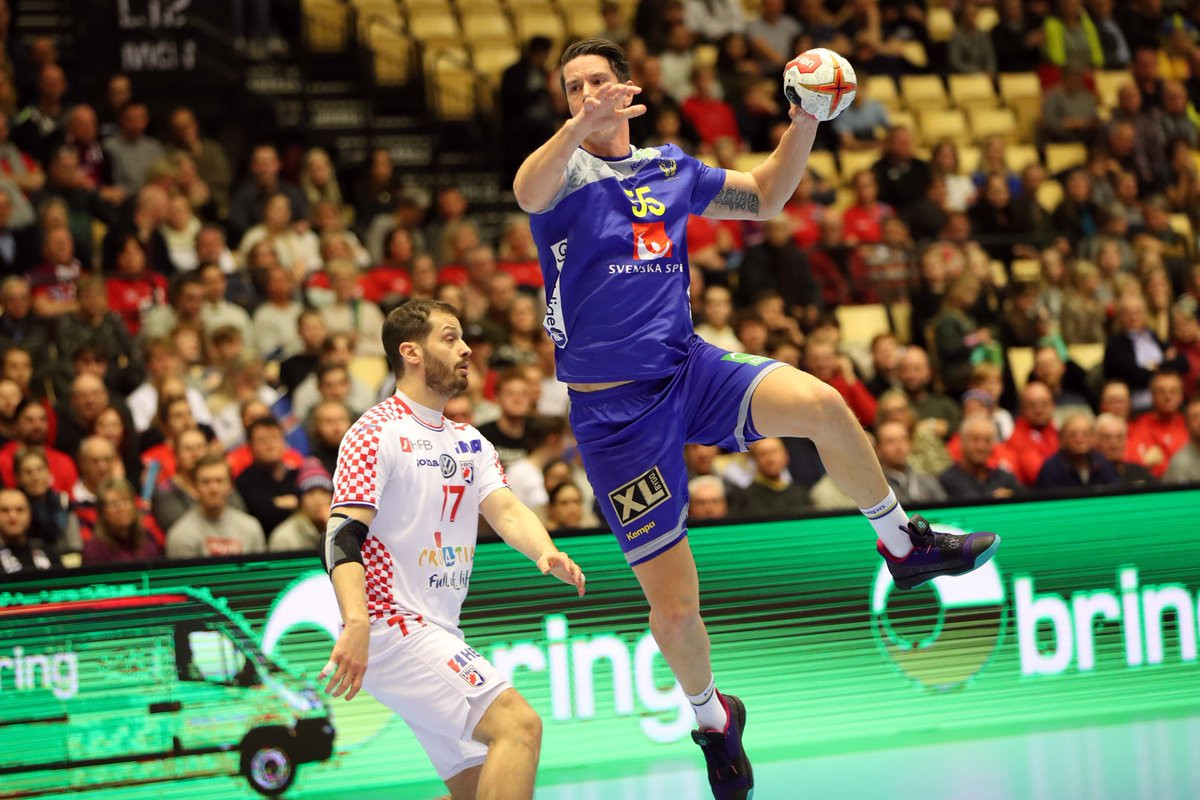 Sweden defeat Croatia to finish fifth at IHF Men's Handball World Championship