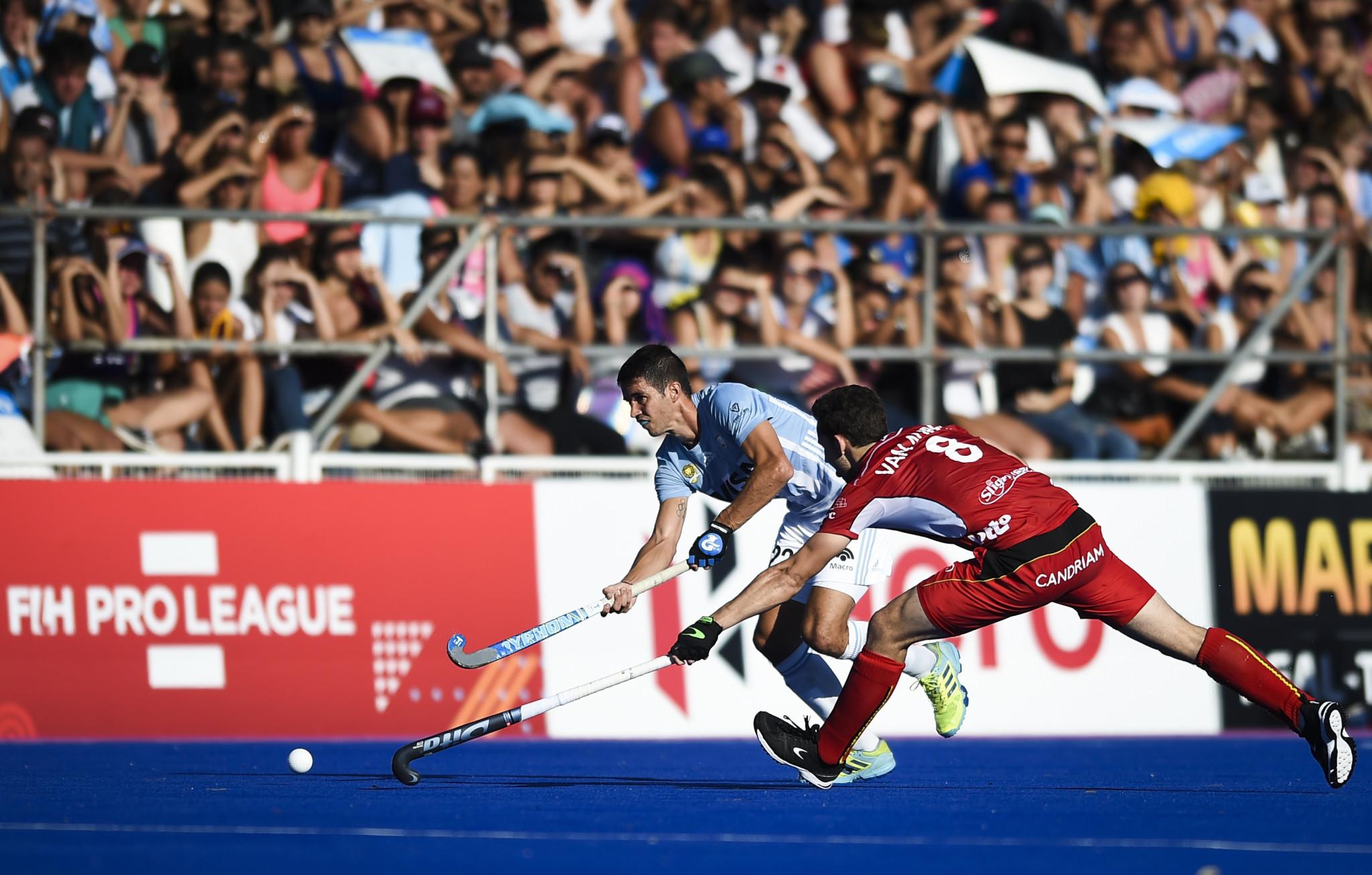Belgium beat Argentina in repeat of Rio 2016 men's final in FIH Pro League