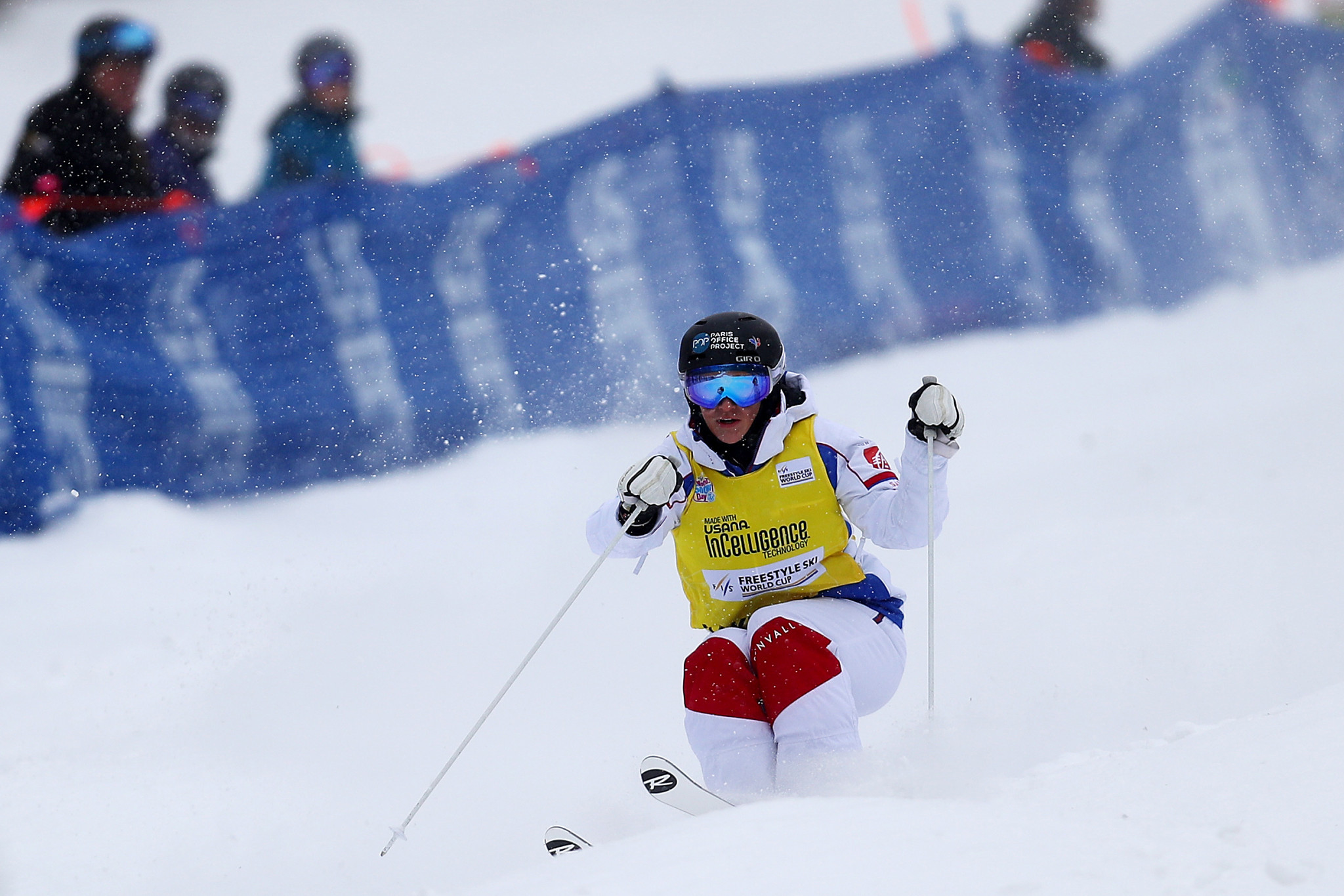 Perrine Laffont of France won the women's competition ©Getty Images
