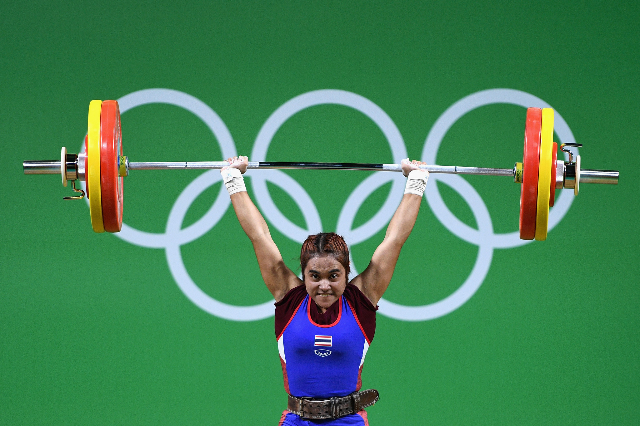 Sopita Tanasan is one of the high profile Thai weightlifters to have failed, putting the country's hosting of the World Championships in doubt ©Getty Images