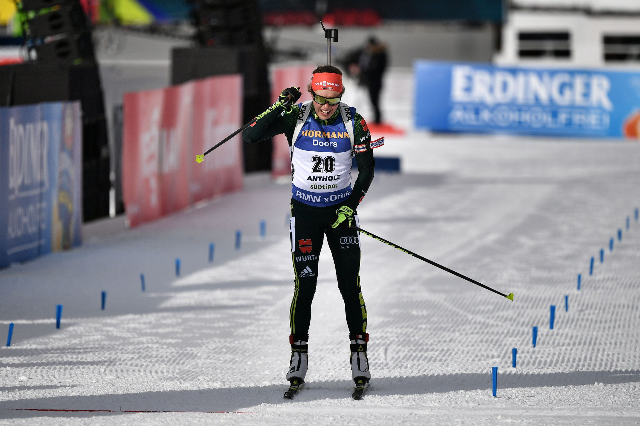 Dahlmeier earns first victory since returning from health break at IBU World Cup