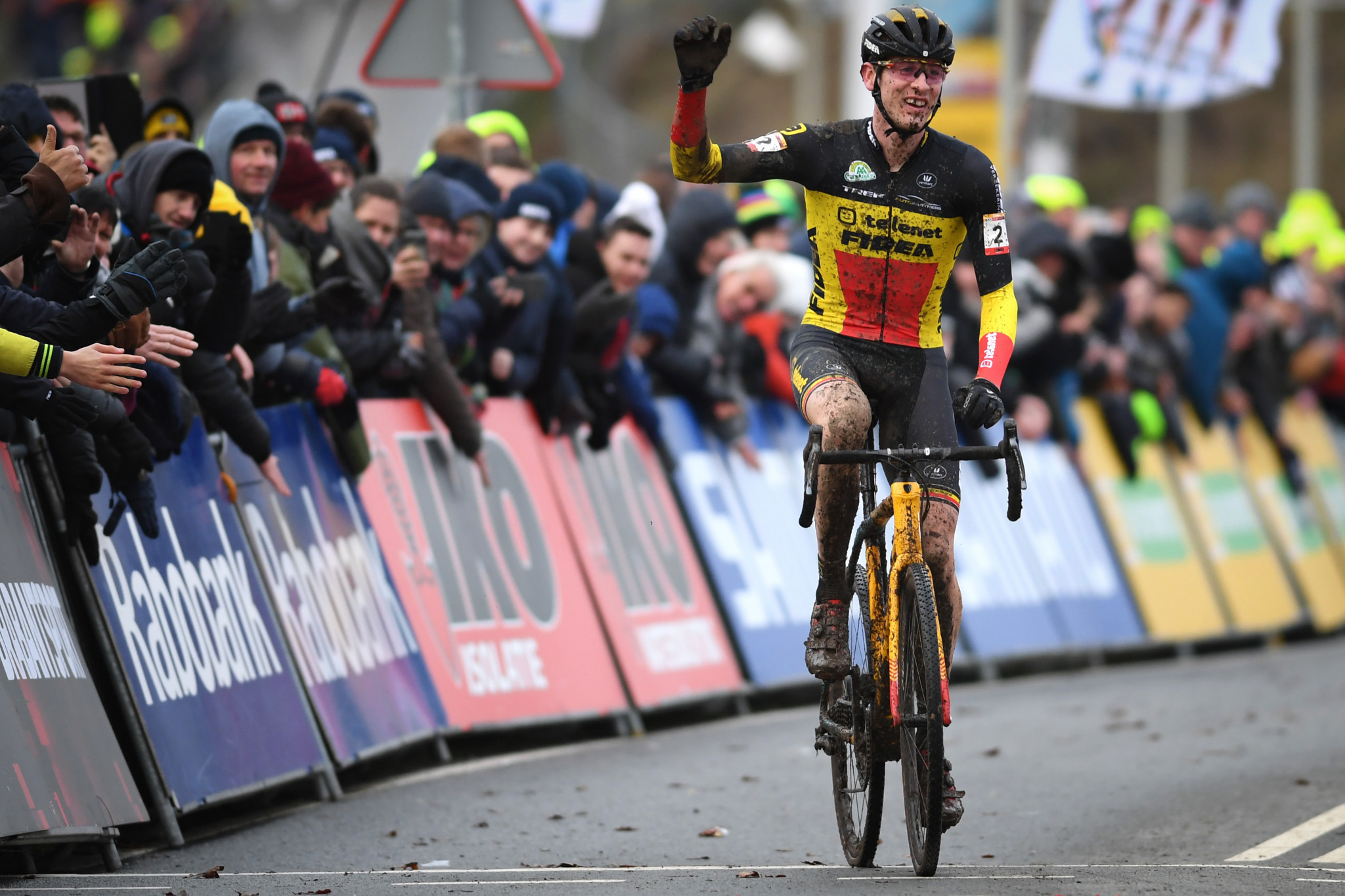 Toon Aerts' second place finish was enough to seal the overall World Cup title ©Getty Images