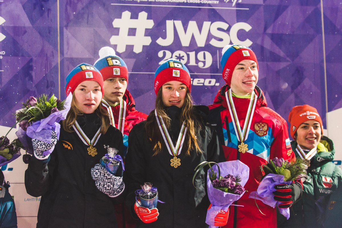Russia win gold on concluding day of FIS Nordic Junior World Championships to top medal table