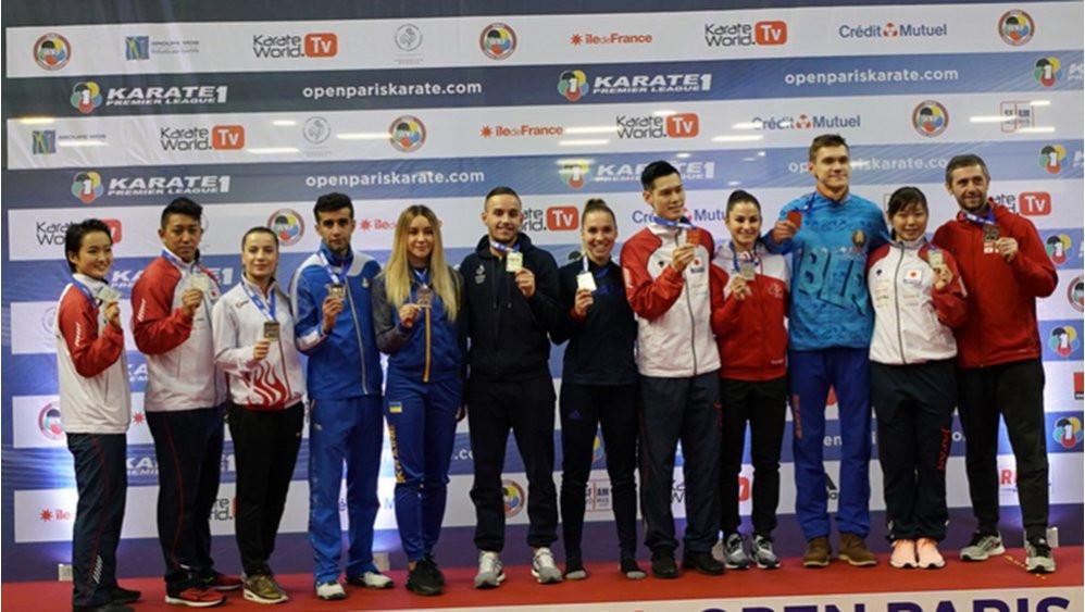 France win two golds as Karate-1 Premier League ends in Paris
