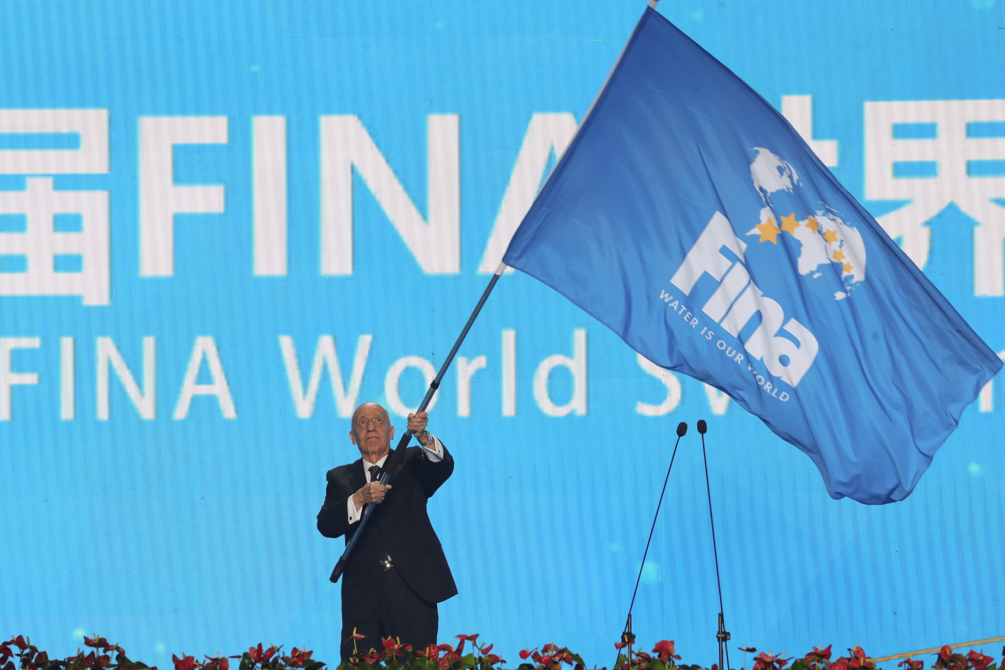 "FINA said they will not consider ""further speculation and hearsay"" on the matter ©Getty Images"