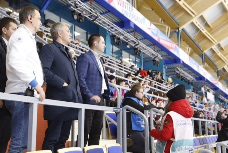 Russian Sports Minister Kolobkov declares Krasnoyarsk ready for 2019 Winter Universiade