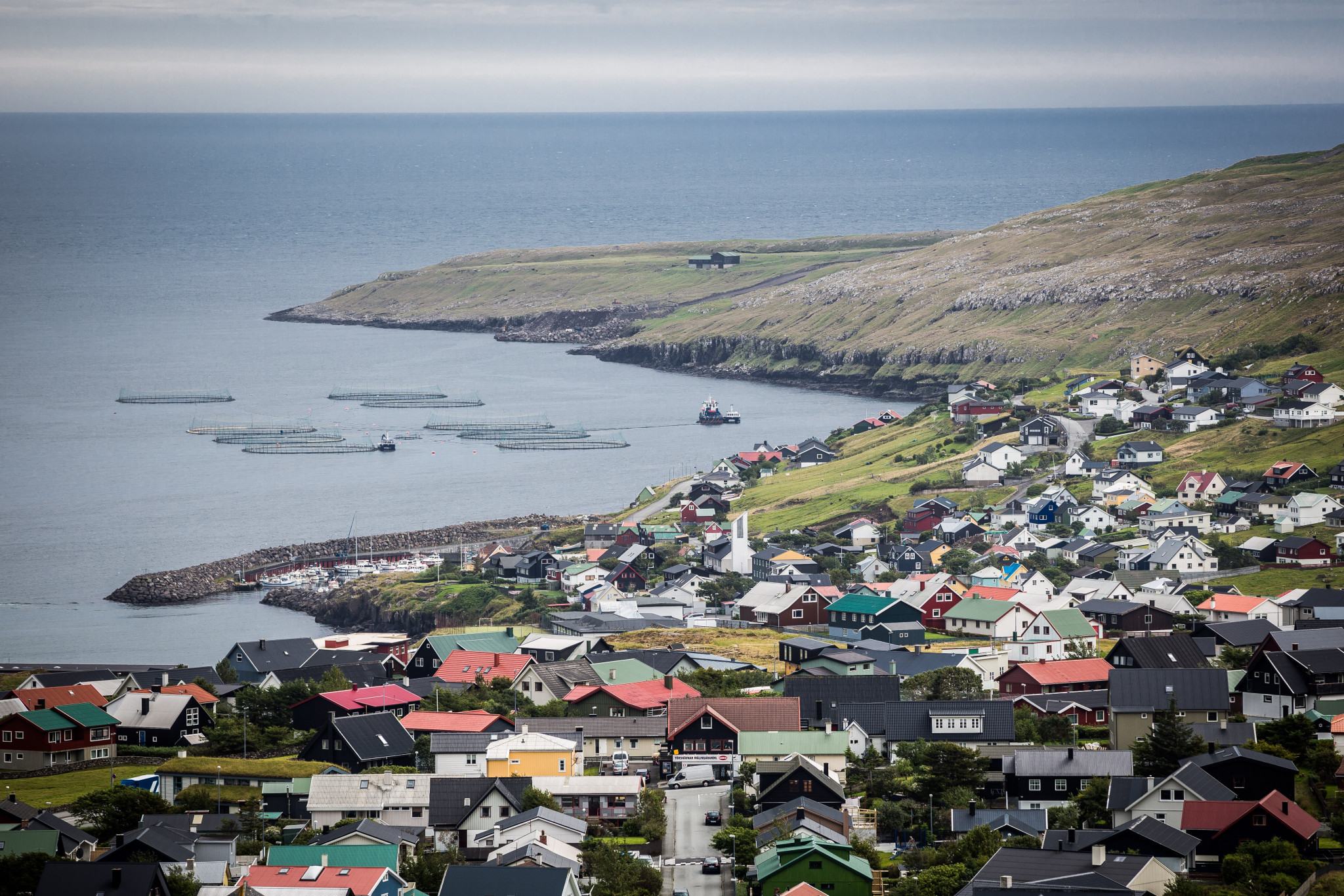 The Faroe Islands have a population of 51,000 people and are closer to Scotland than Denmark ©Getty Images