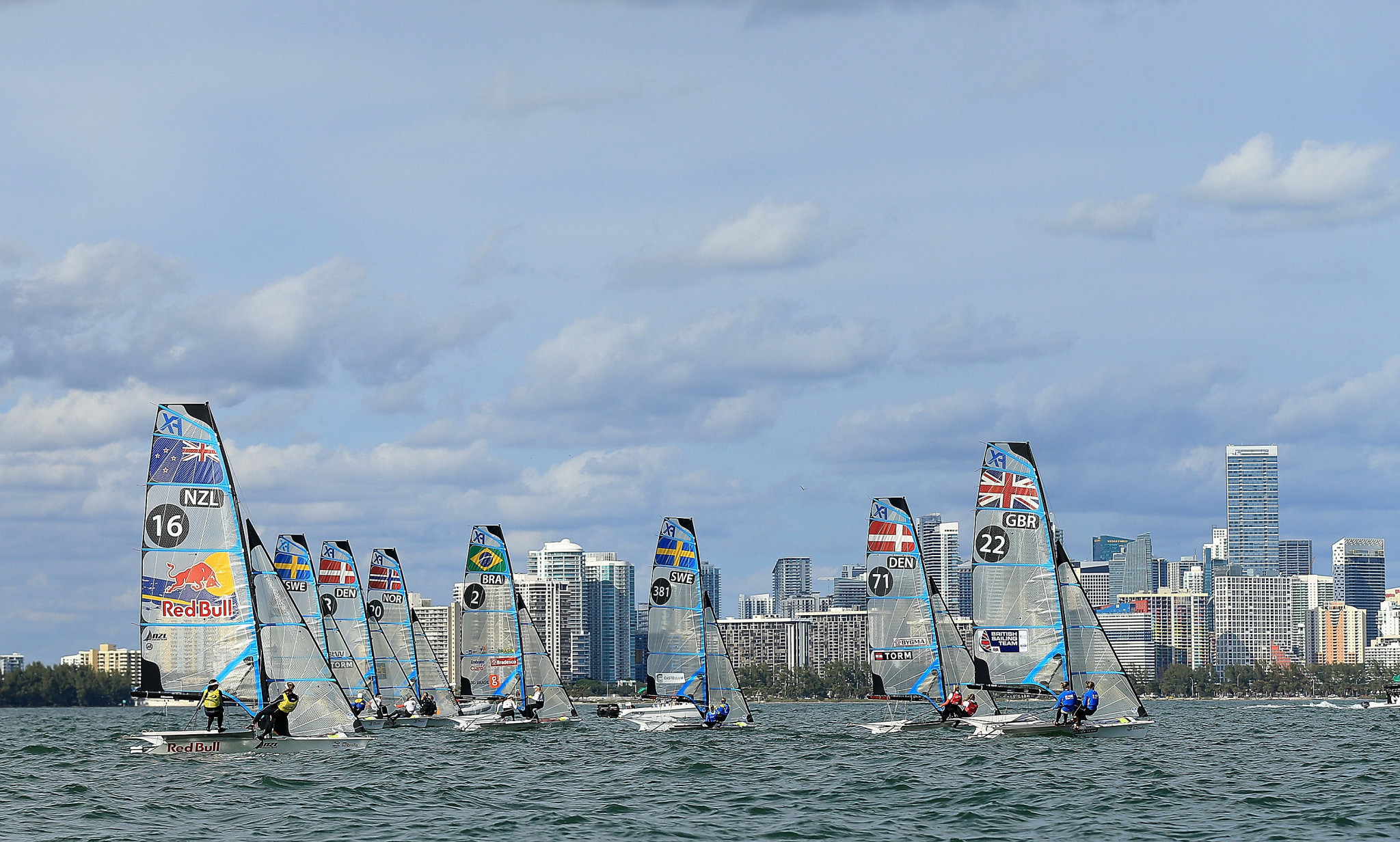Thirty-four Olympic medallists entered for Sailing World Cup in Miami