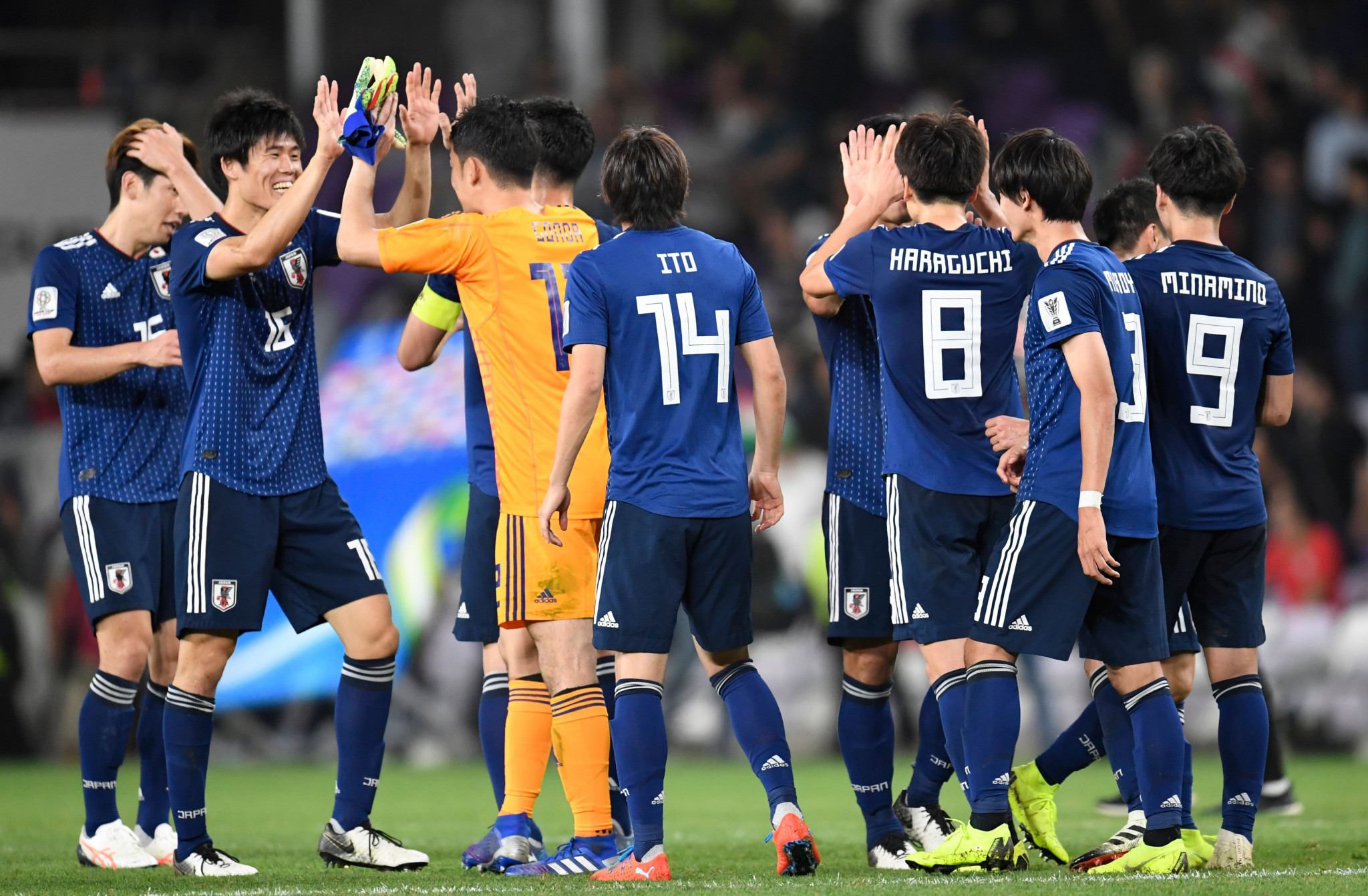 Japan have advanced into their fifth Asian Cup final with a 3-0 win over Iran ©Getty Images