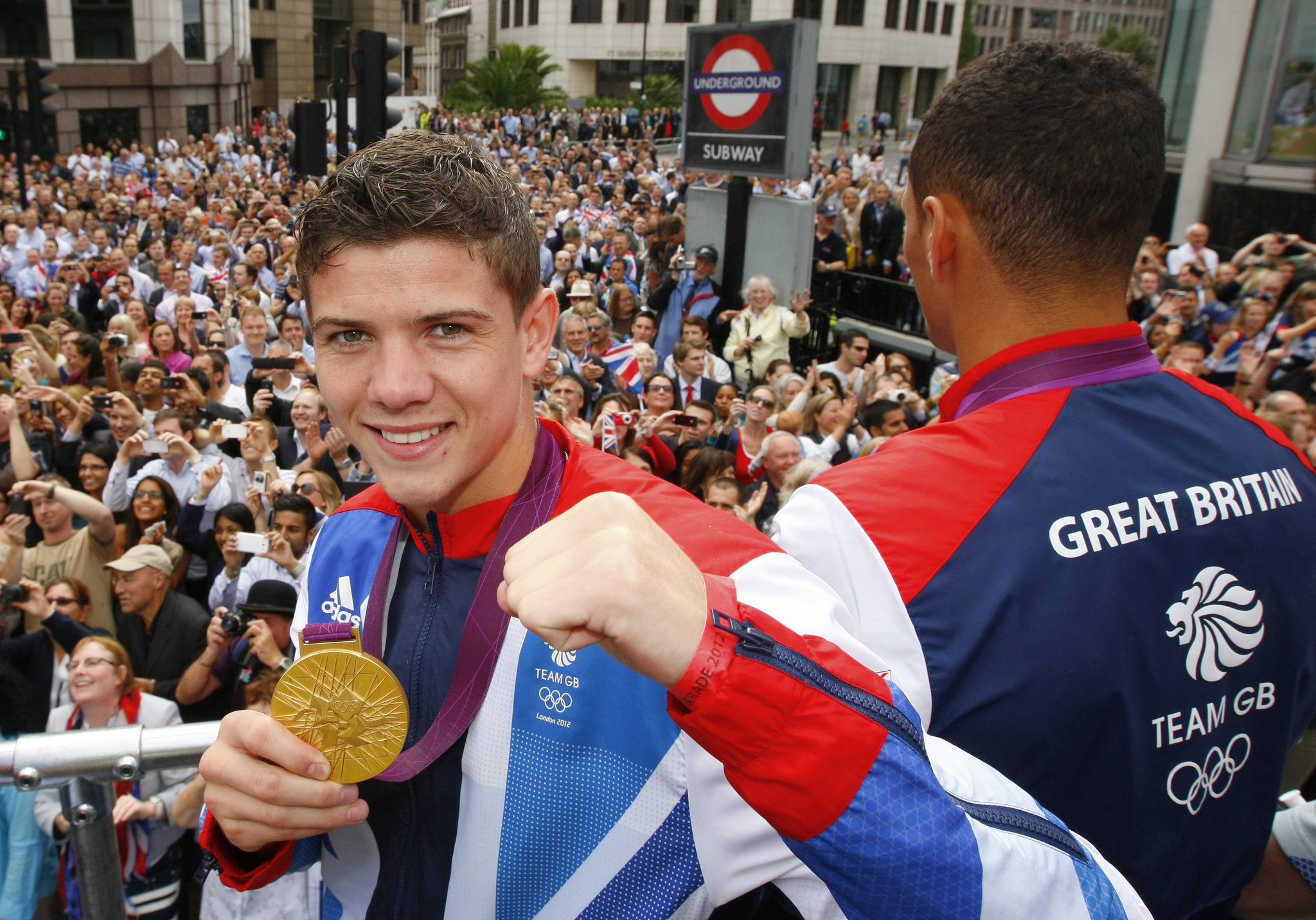 Boxer Luke Campbell is among those supporting the link-up ©Getty Images