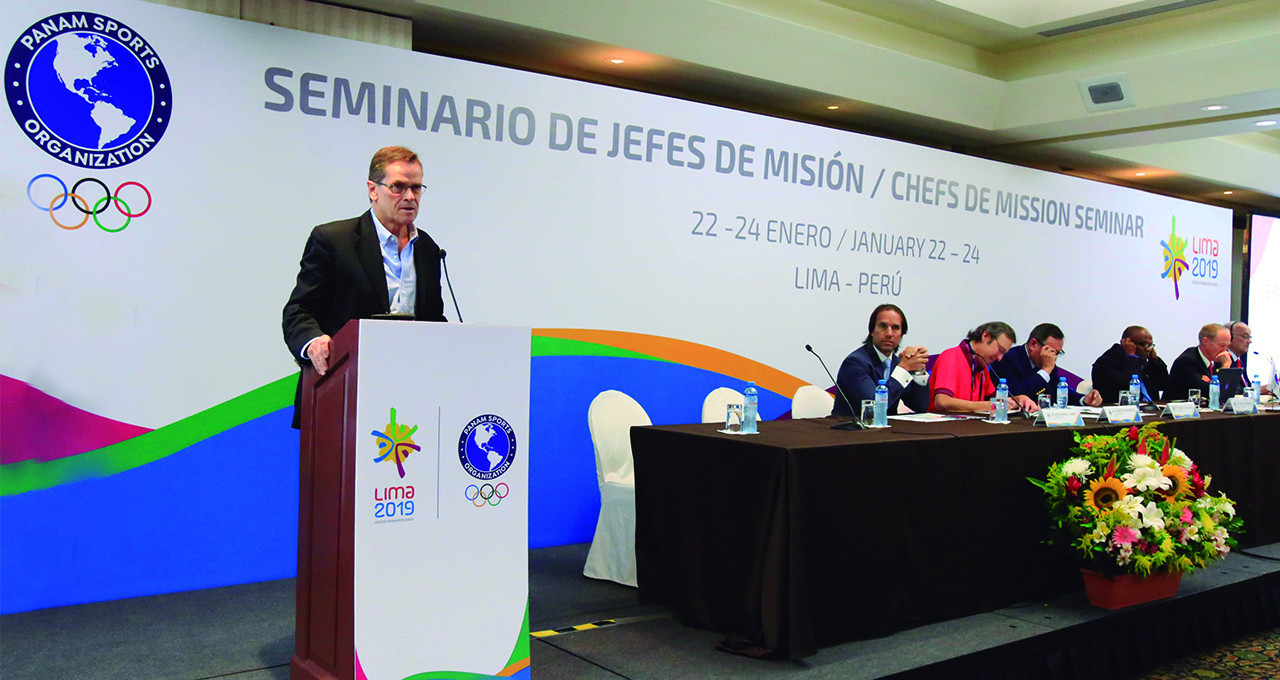 Lima 2019 President Carlos Neuhaus said organisers had taken on feedback from the Chefs de Mission ©Lima 2019