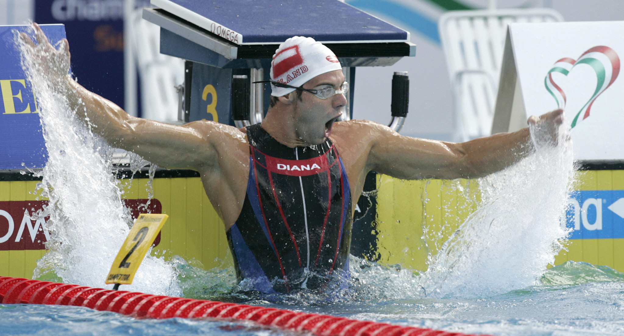 The former Polish swimmer turned down the role because of the country's ban on Israeli athletes ©Getty Images
