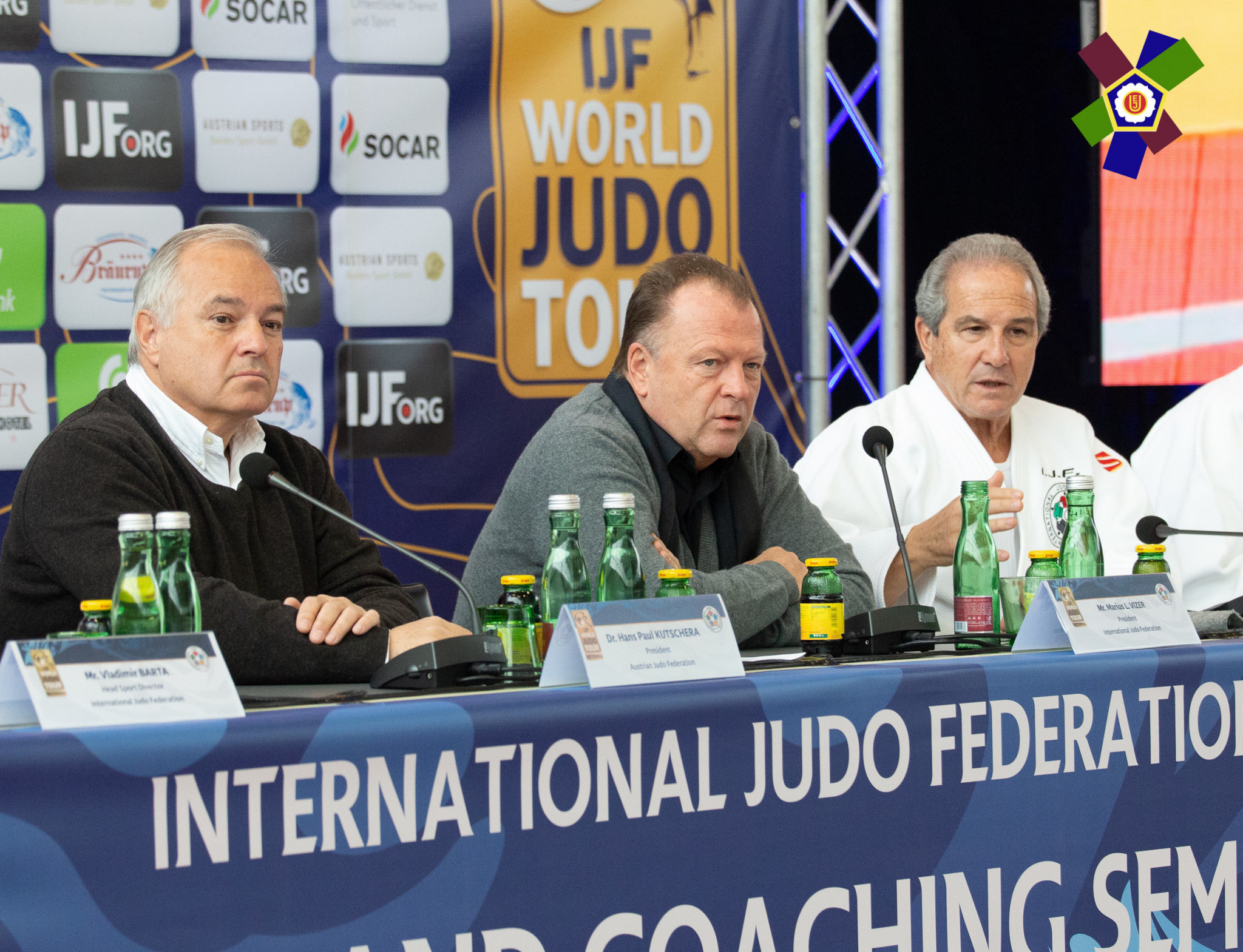 Vizer among officials to attend IJF Refereeing and Coaches Seminar