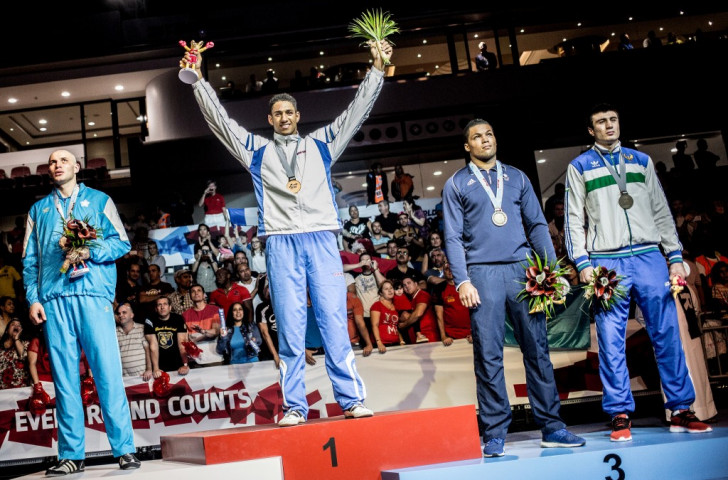 French super heavyweight Tony Yoka was one of 10 gold medallists at the World Championships