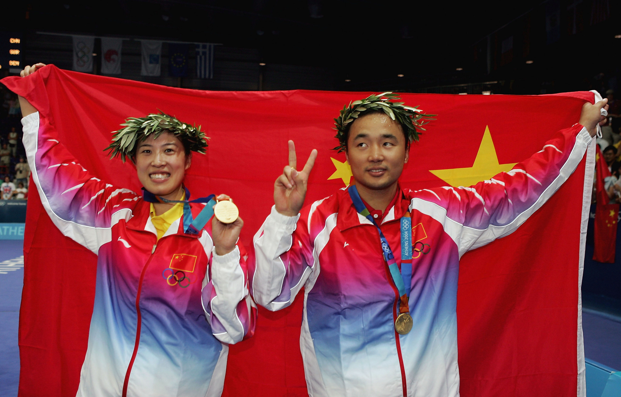 Zhang Jun won two Olympic mixed doubles gold medals with Gao Ling ©Getty Images