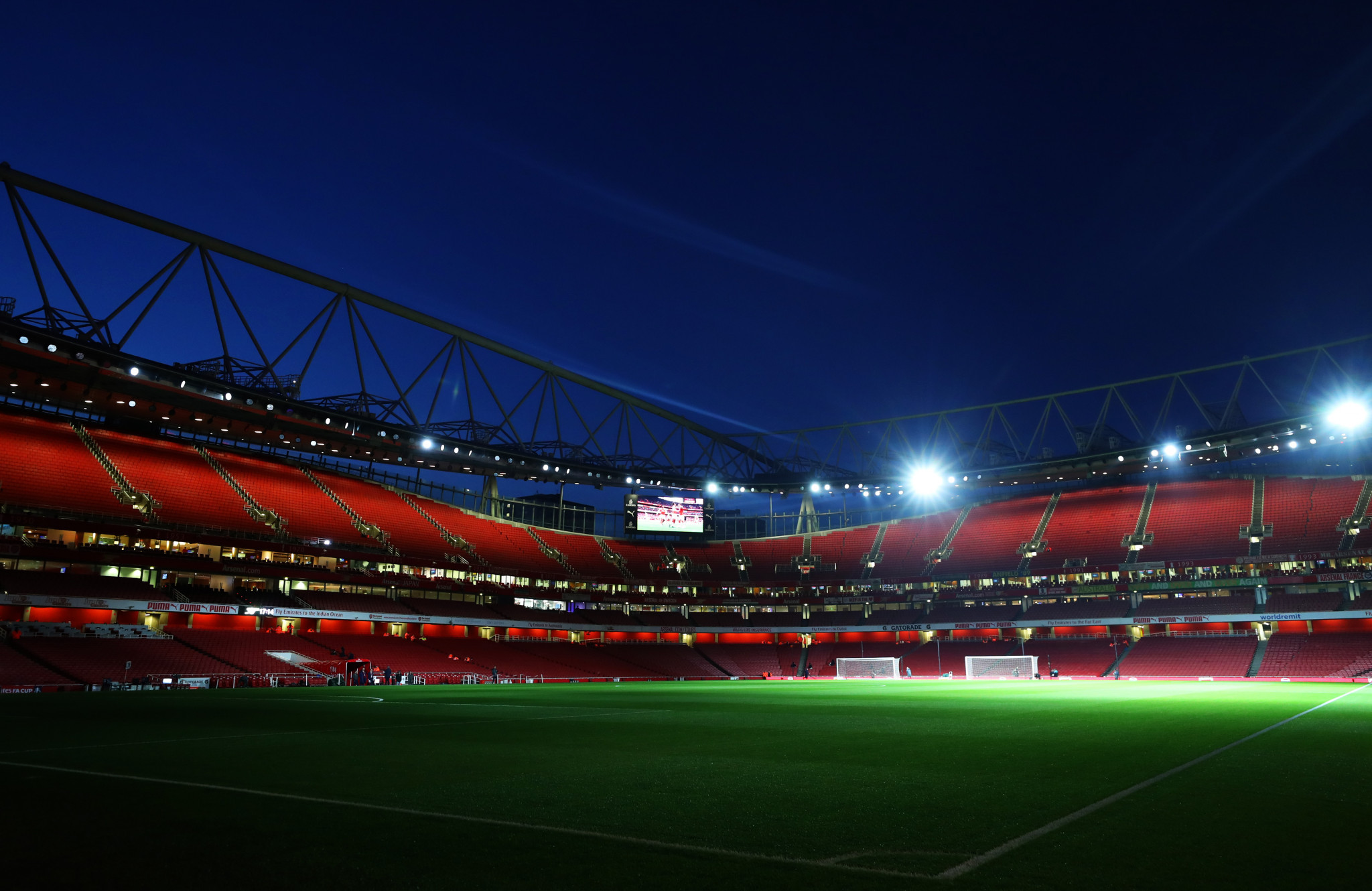 Rugby league will become the first sport to be staged at Arsenal's Emirates Stadium during the 2021 World Cup ©Getty Images