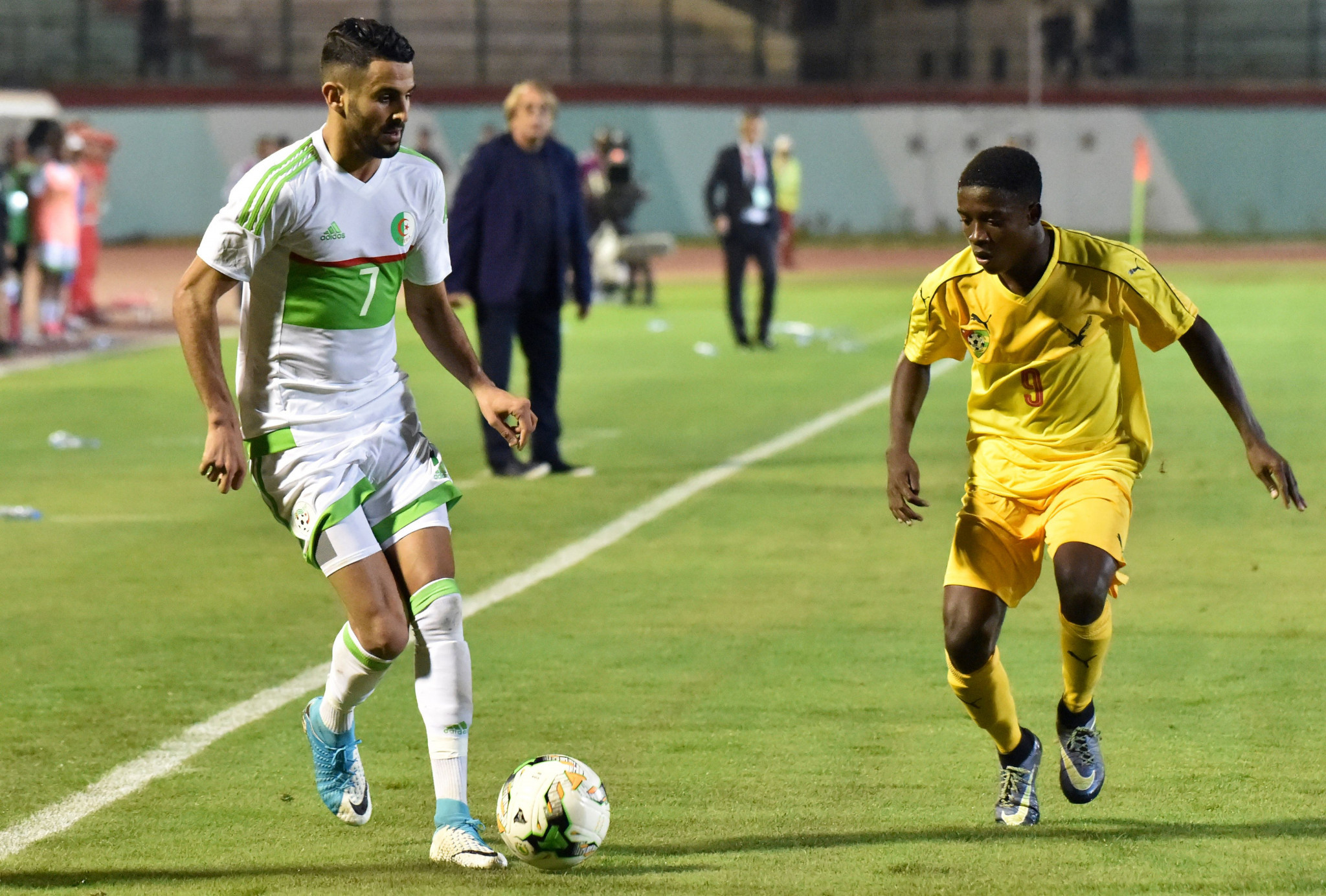 Mahrez and Matoub honoured at Algerian Olympic Committee awards