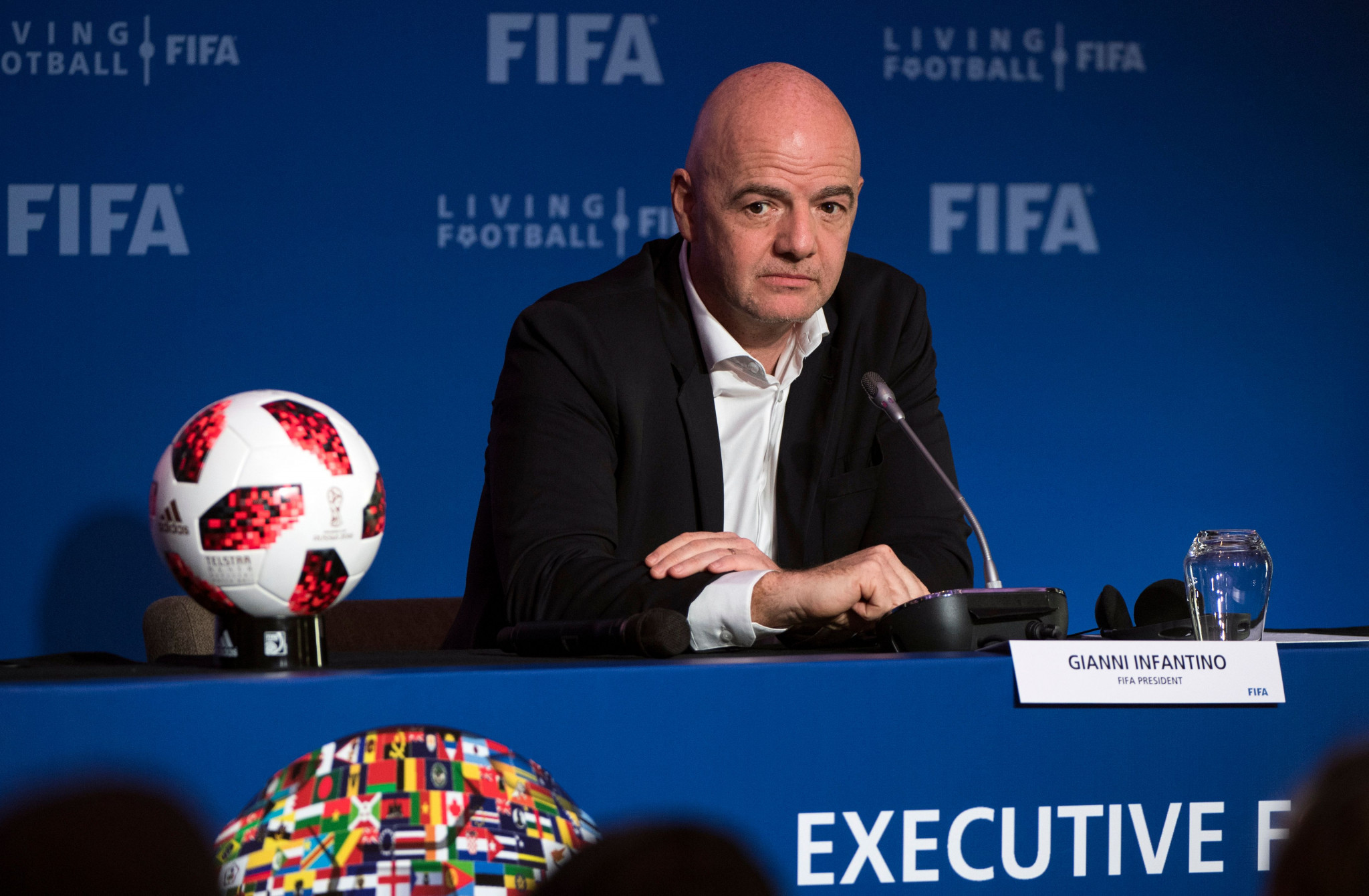 Gianni Infantino could face a challenger in his bid for re-election as FIFA President ©Getty Images
