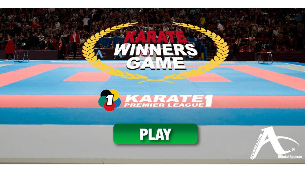 The World Karate Federation have launched a new online game called Karate Winners Game ©WKF