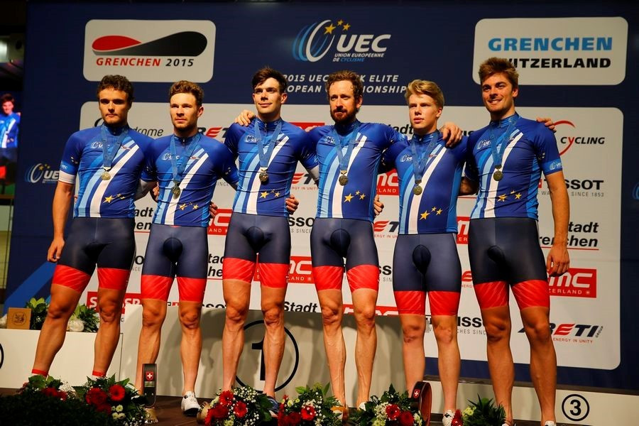 Britain secure double team pursuit gold at European Track Cycling Championships