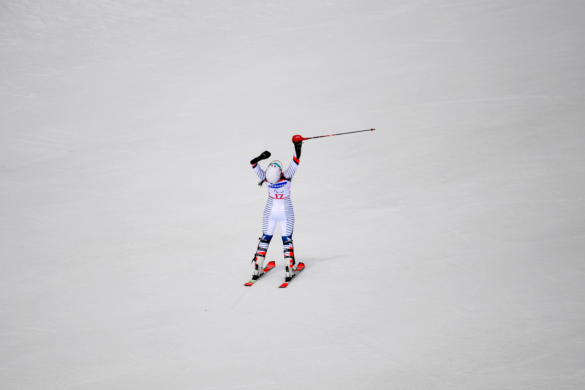 Kampschreur and Bochet complete hat-tricks at World Para Alpine Skiing Championships