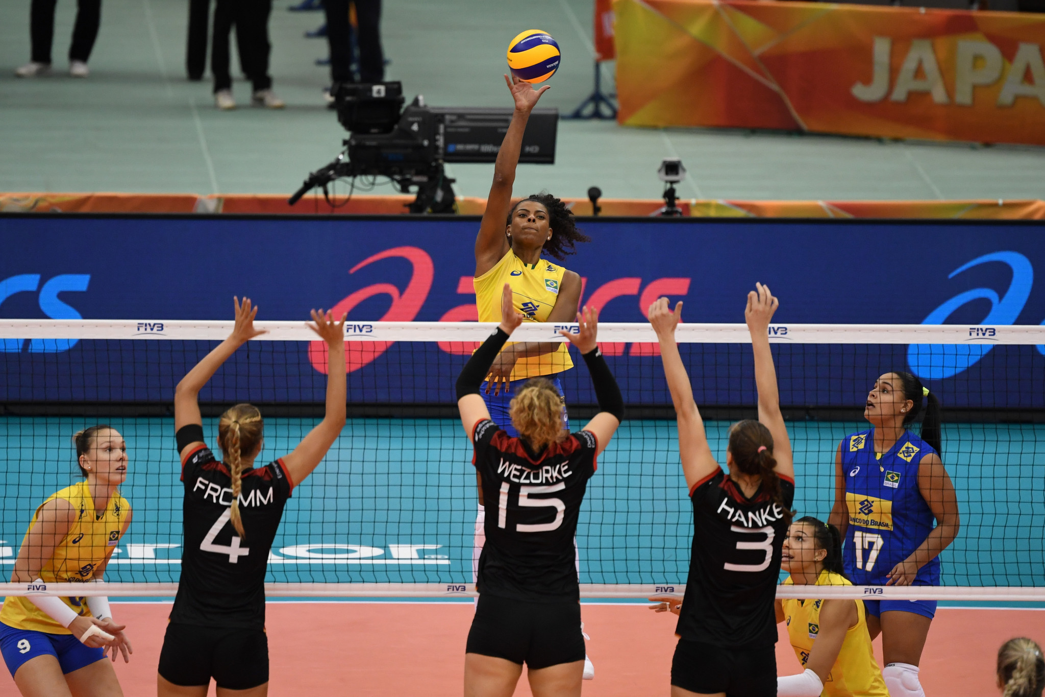 Both Germany and Brazil will be competing in their respective FIVB Intercontinental Olympic Qualification Tournaments to try and reach the Tokyo 2020 Olympic Games ©Getty Images