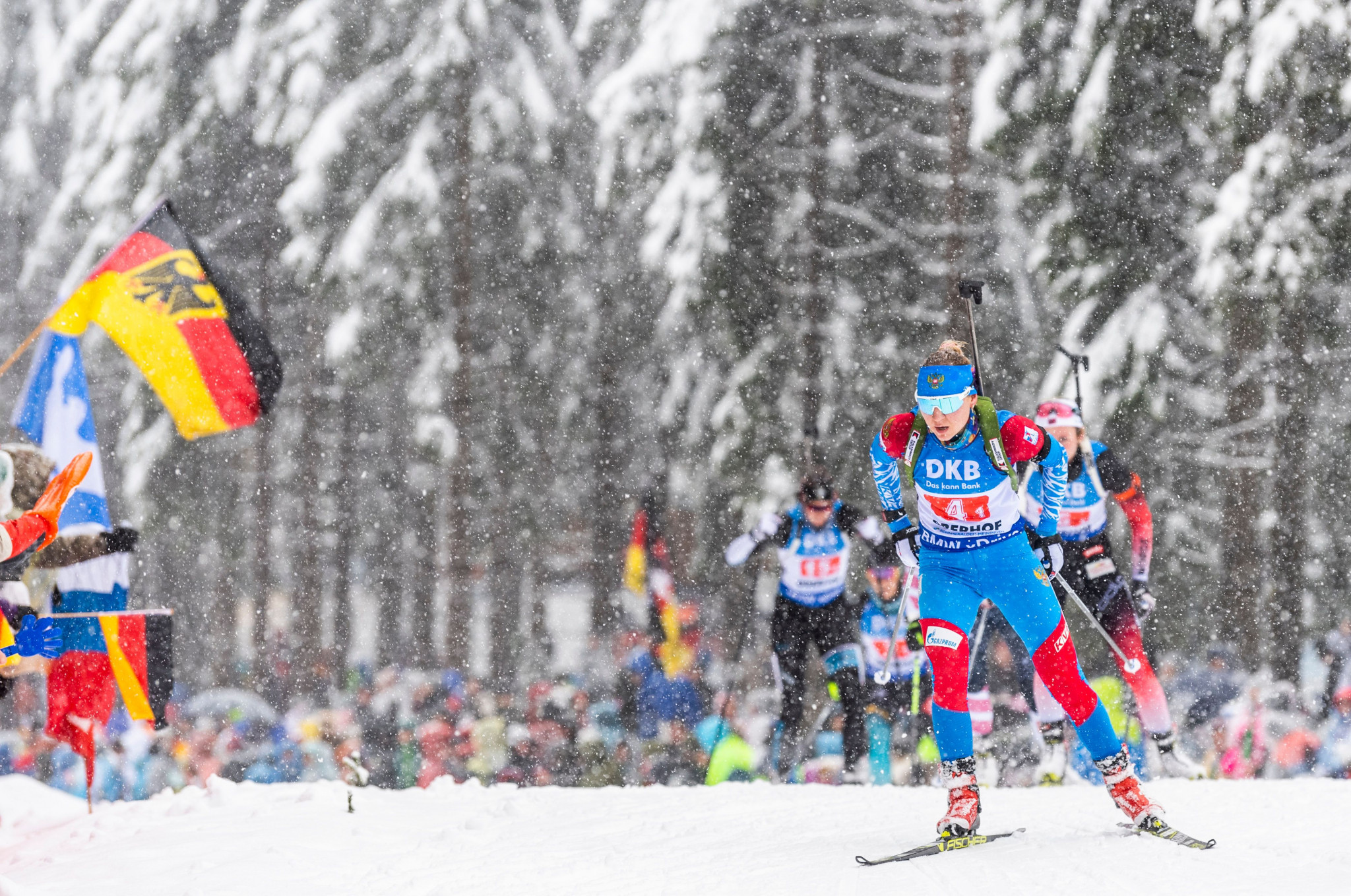 The Russian Biathlon Union and the Russian Anti-Doping Agency have sent a report to the IBU detailing their progress in tackling doping ©Getty Images