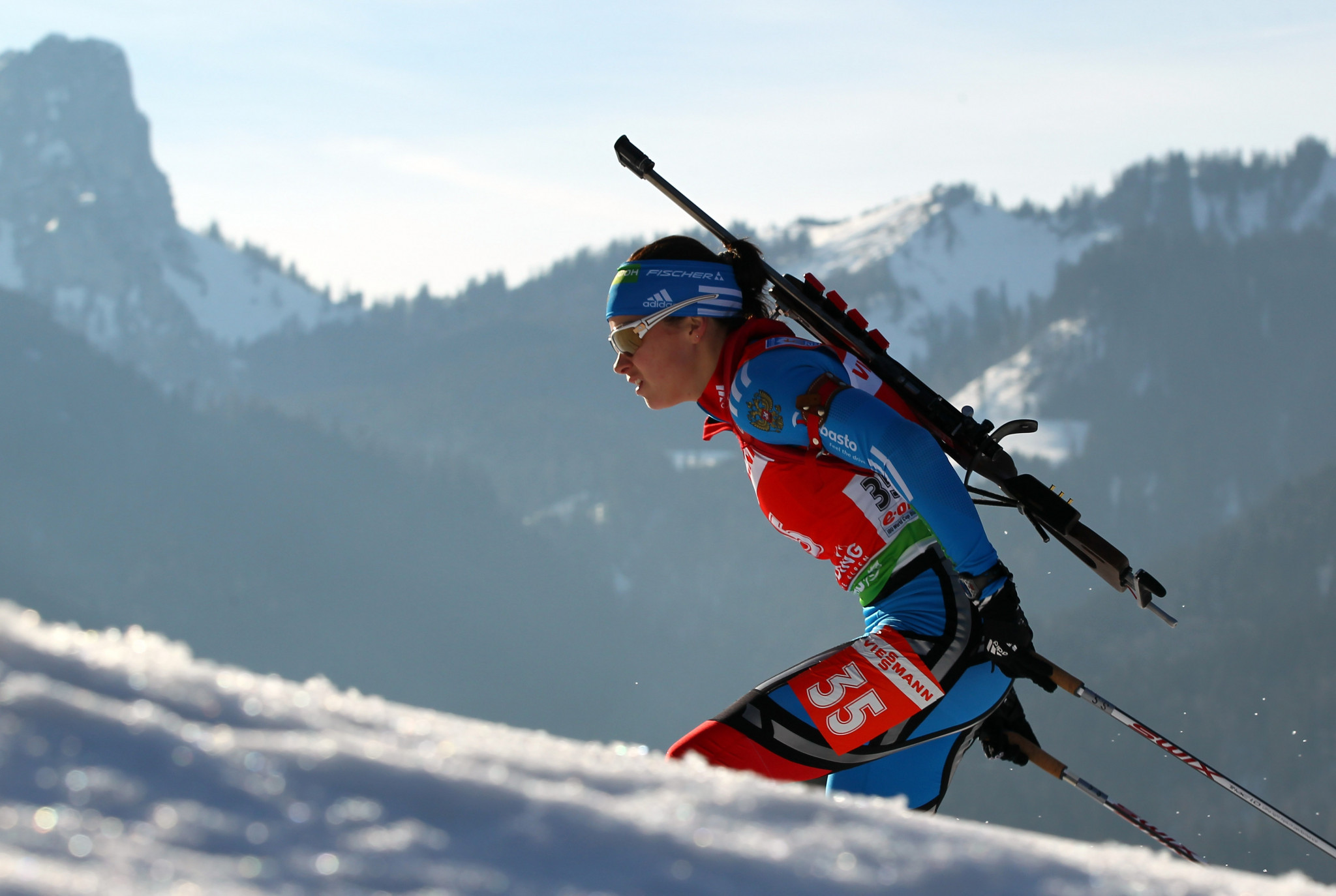 Russian biathlon has been hugely impacted by the country's doping crisis ©Getty Images