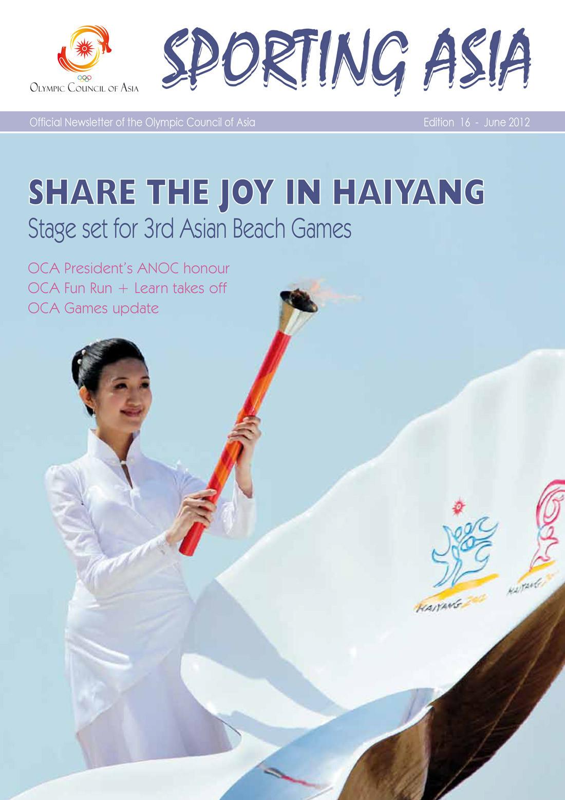 Sporting Asia - Edition 16 - JUN 2012