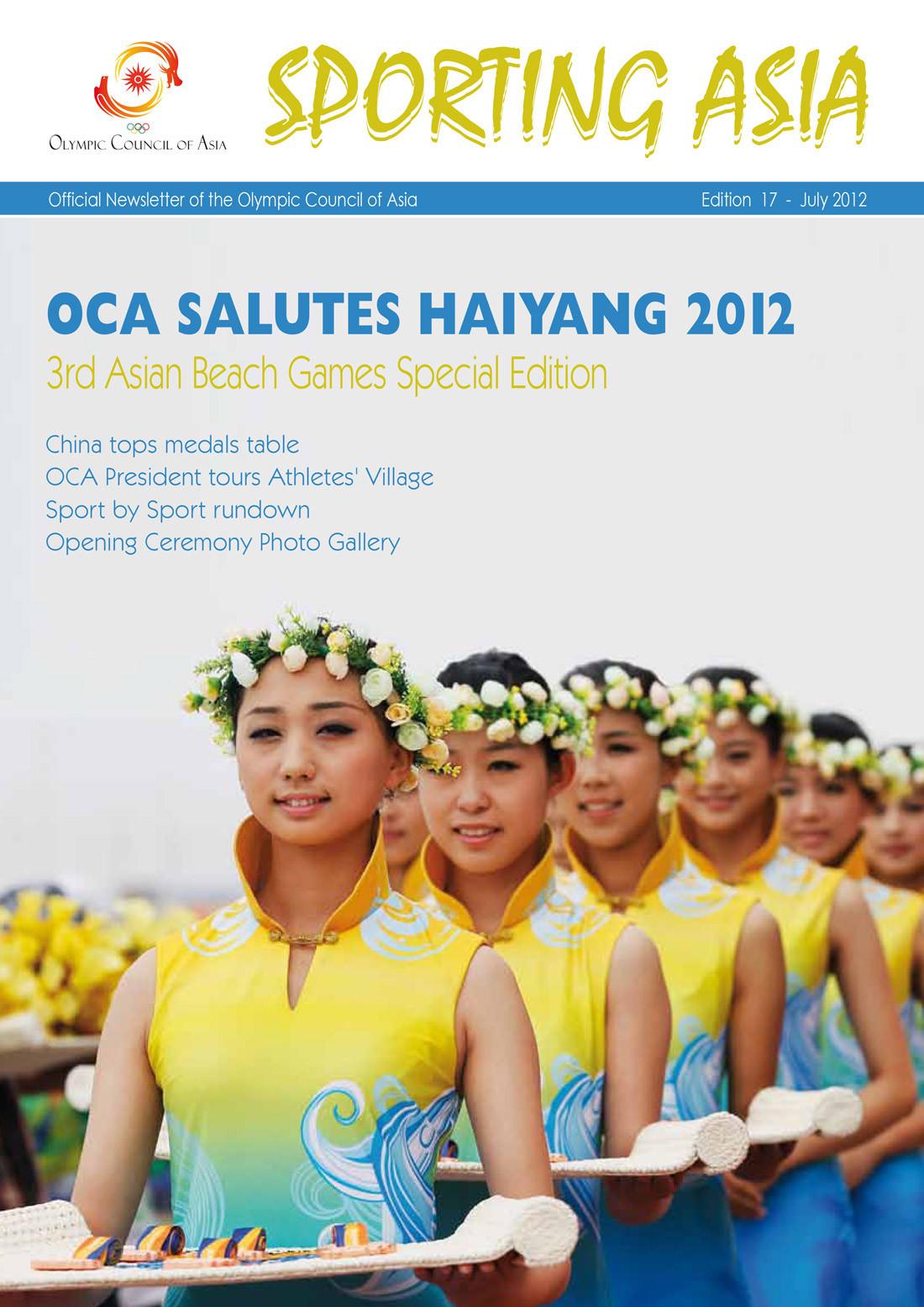 Sporting Asia - Edition 17 - JUL 2012