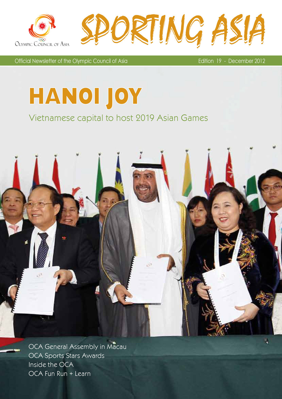 Sporting Asia - Edition 19 - DEC 2012
