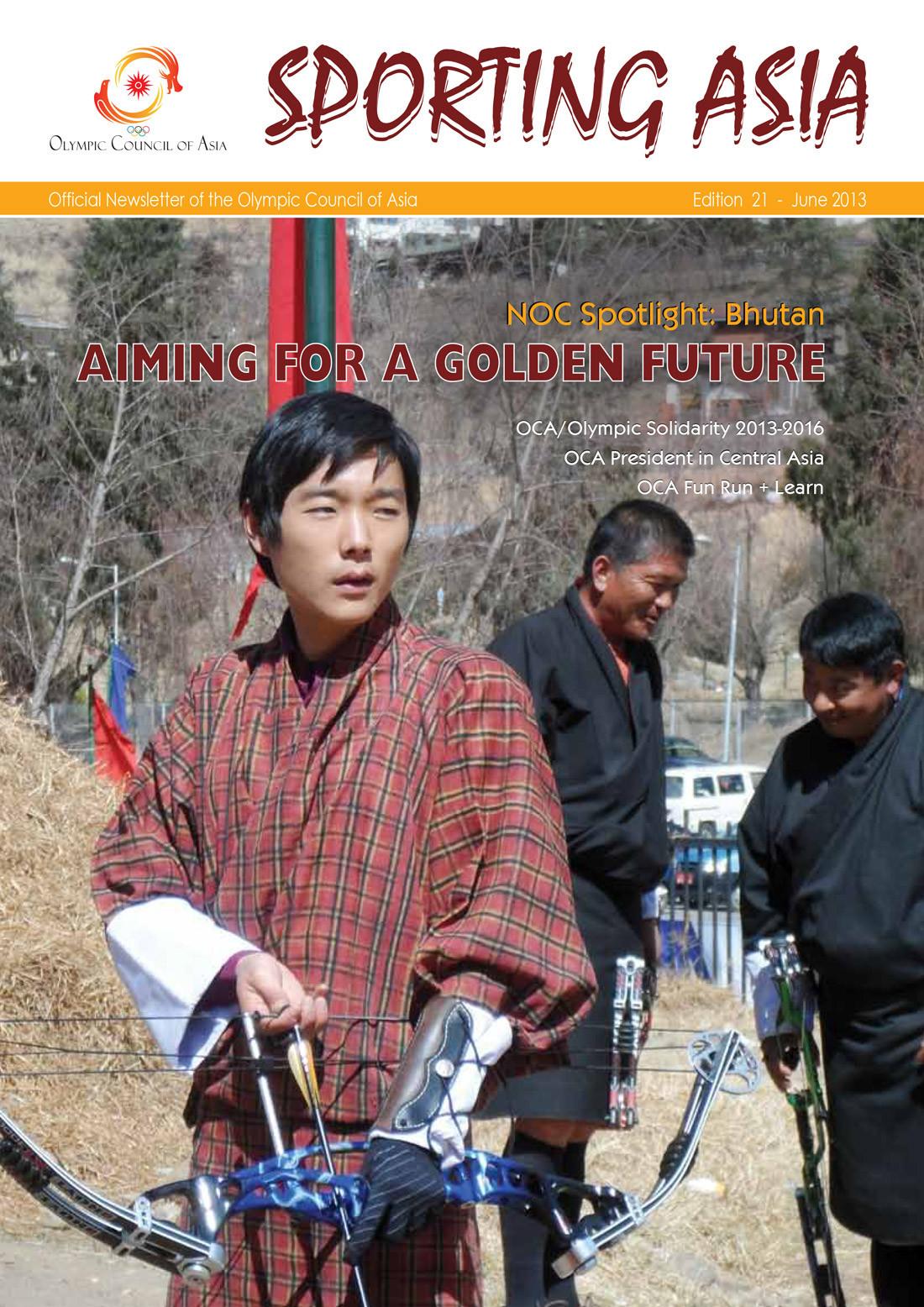 Sporting Asia - Edition 21 - JUN 2013