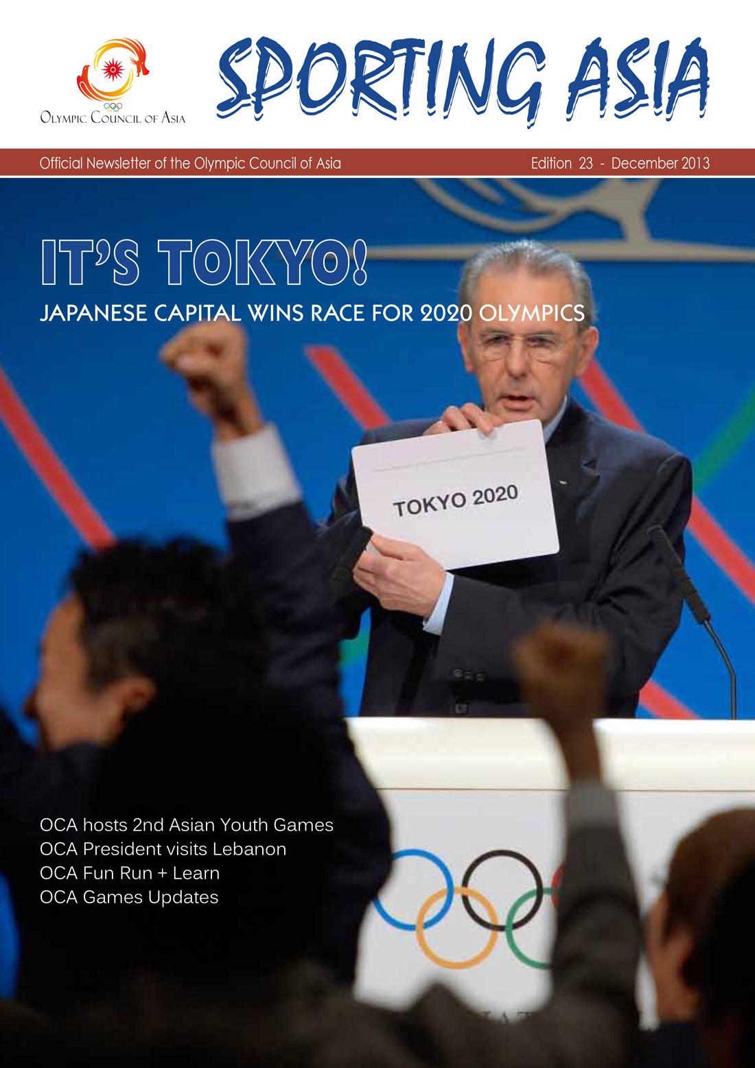 Sporting Asia - Edition 23 - DEC 2013