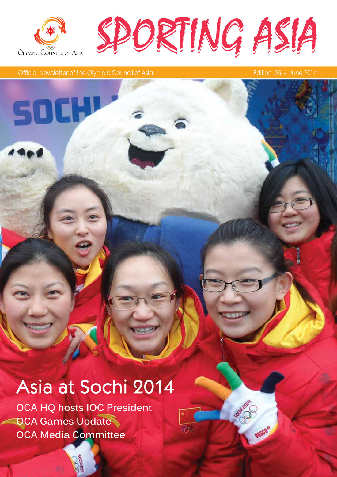 Sporting Asia - Edition 25 - JUN 2014