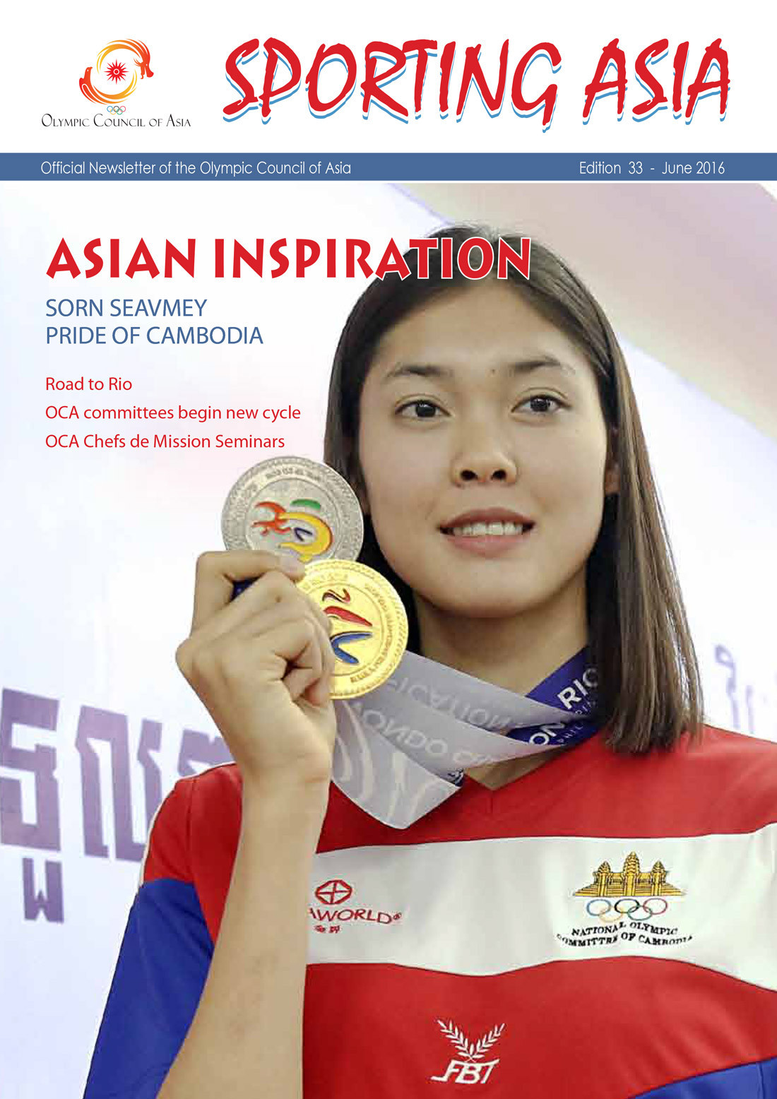 Sporting Asia - Edition 33 - JUN 2016