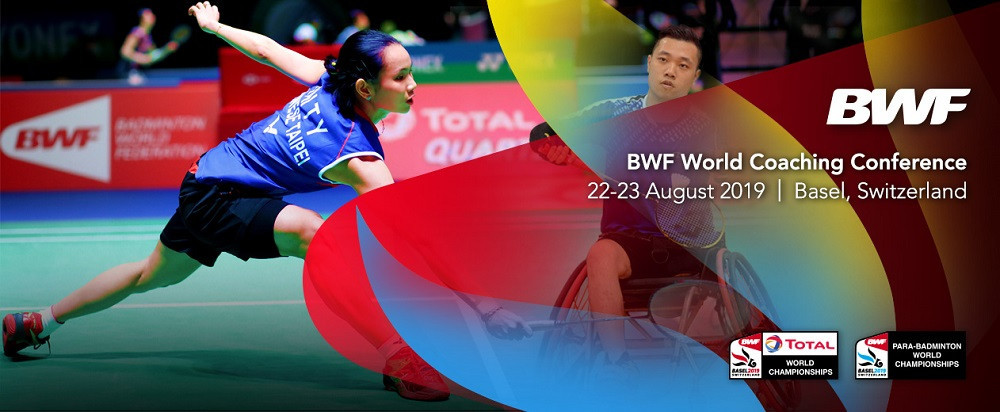 The BWF has named their first speakers for the 2019 World Coaching Conference in Basel this August ©BWF
