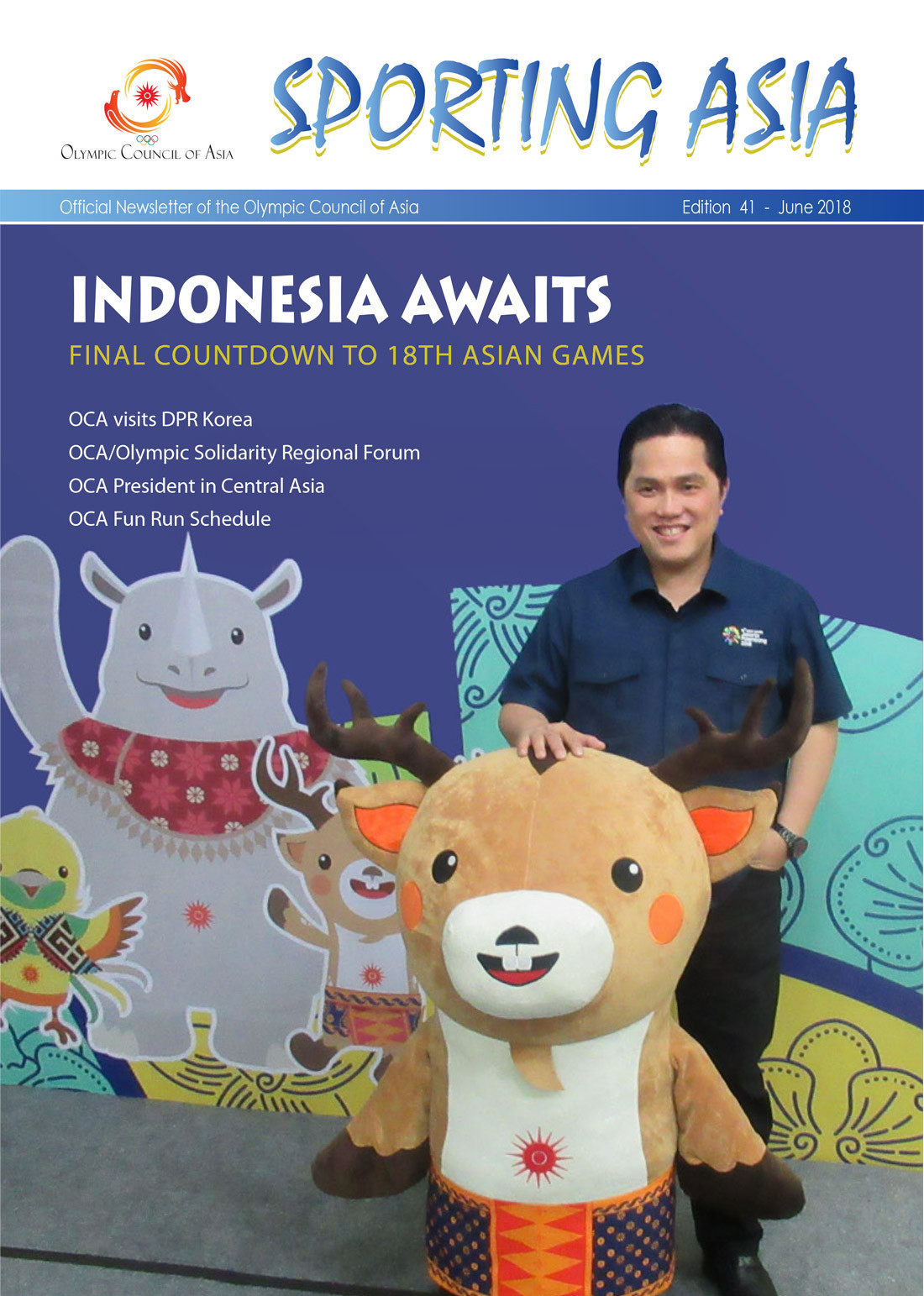 Sporting Asia - Edition 41 - JUN 2018