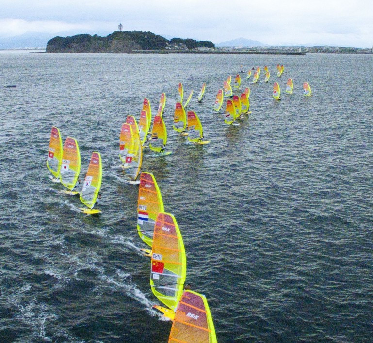Sailing at the Tokyo 2020 Olympic Games will take place off Enoshima island ©Getty Images