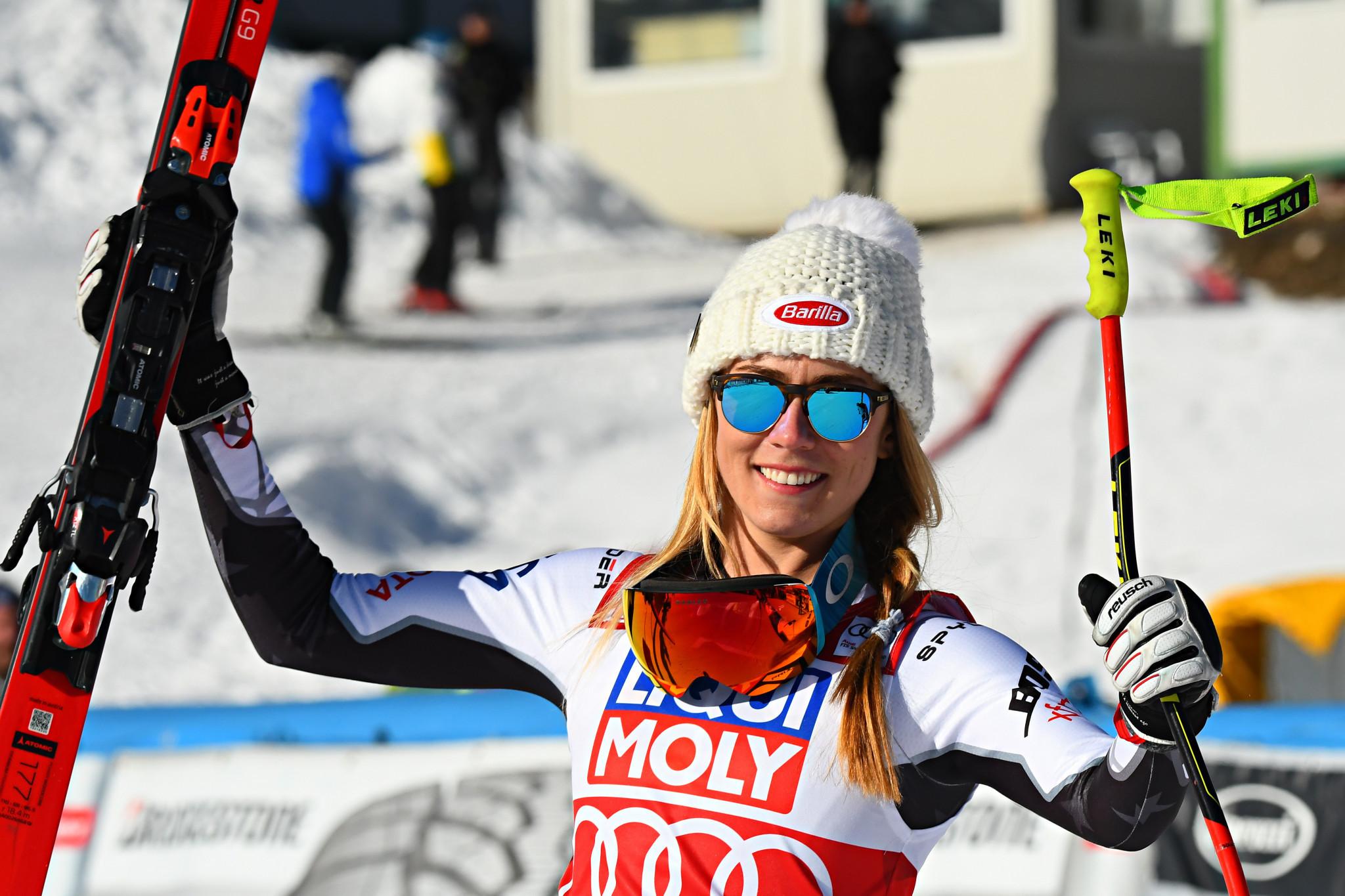 Shiffrin seeking latest win as FIS World Cup season continues