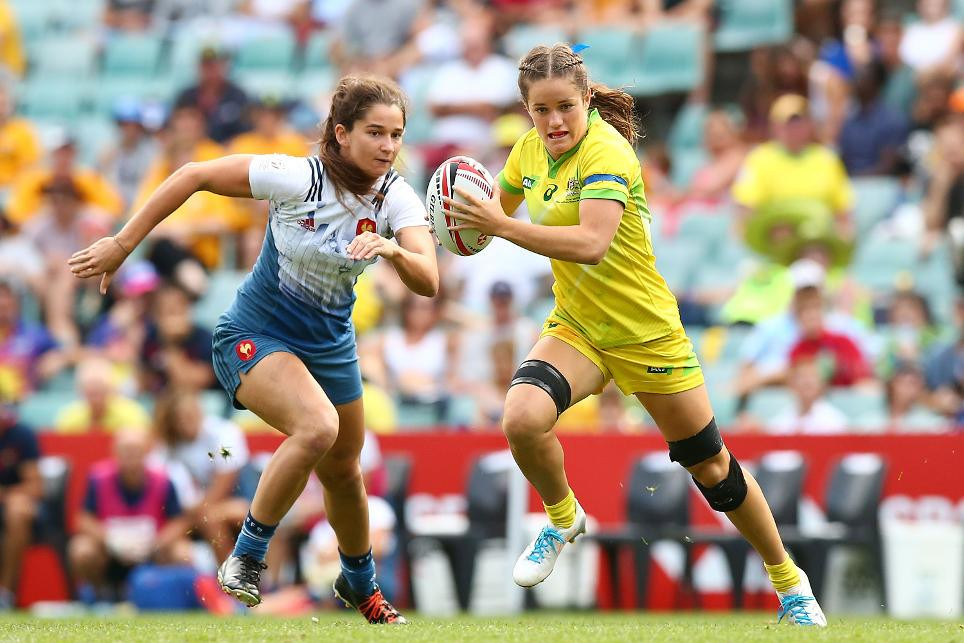 The Australian rugby sevens women's team will be looking to retain their title in front of a home crowd at the World Rugby Seven Series event in Sydney ©World Rugby