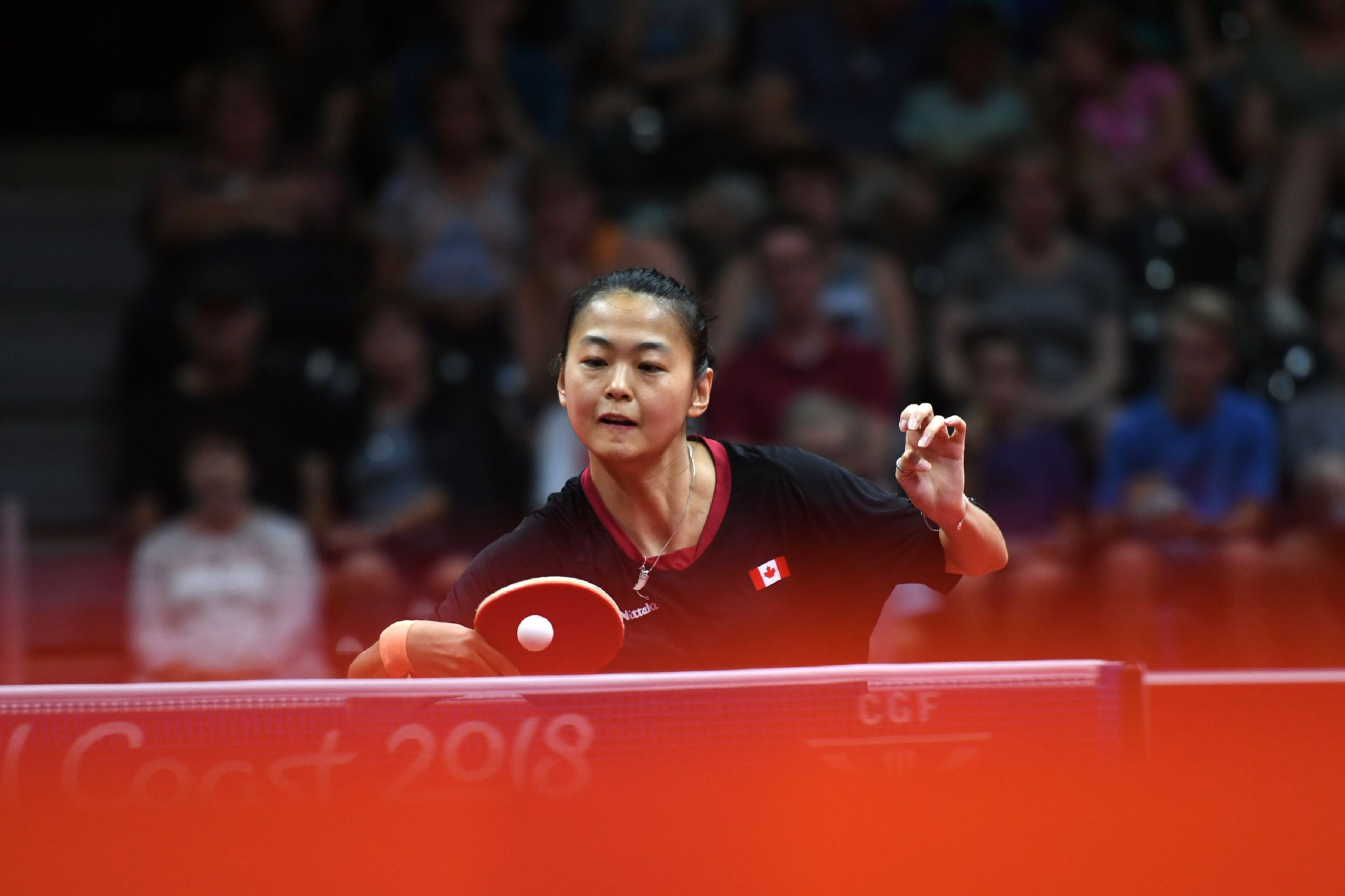 Mo Zhang of Canada is the women's top seed ©Getty Images