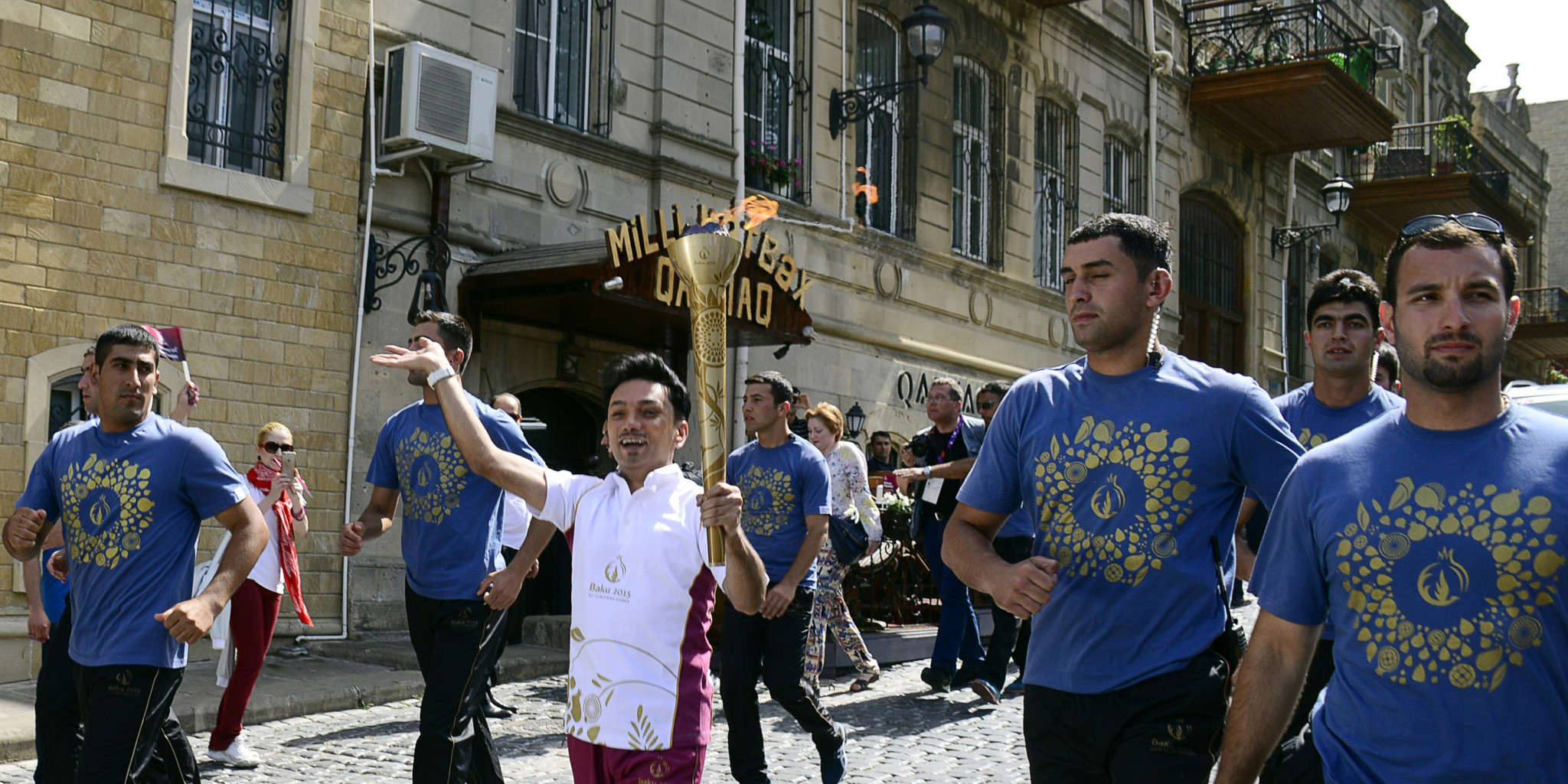 Minsk 2019 will follow Baku 2015 in holding a Torch Relay for the European Games ©Getty Images