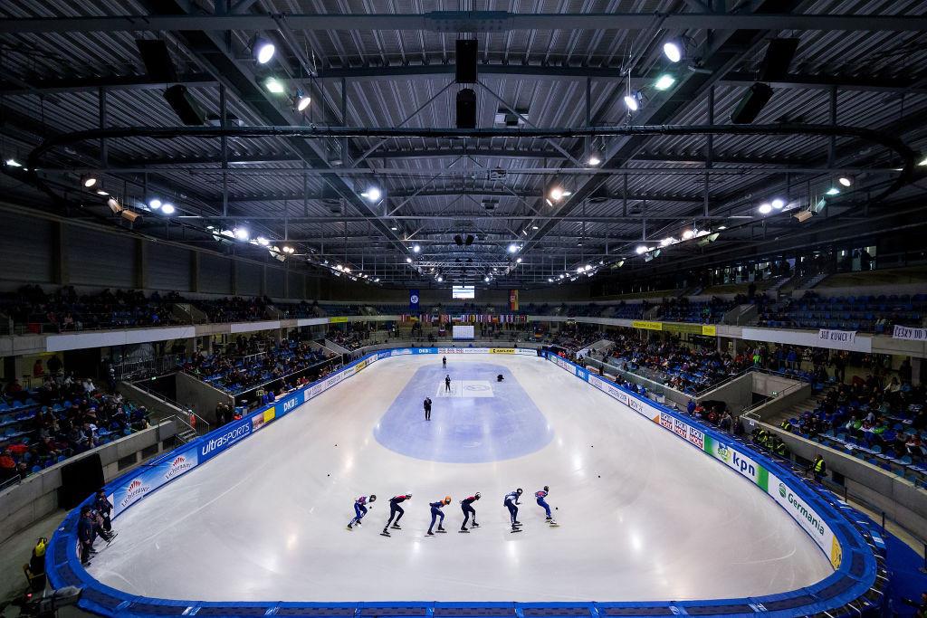 The EnergieVerbund Arena will host the action in Dresden ©ISU