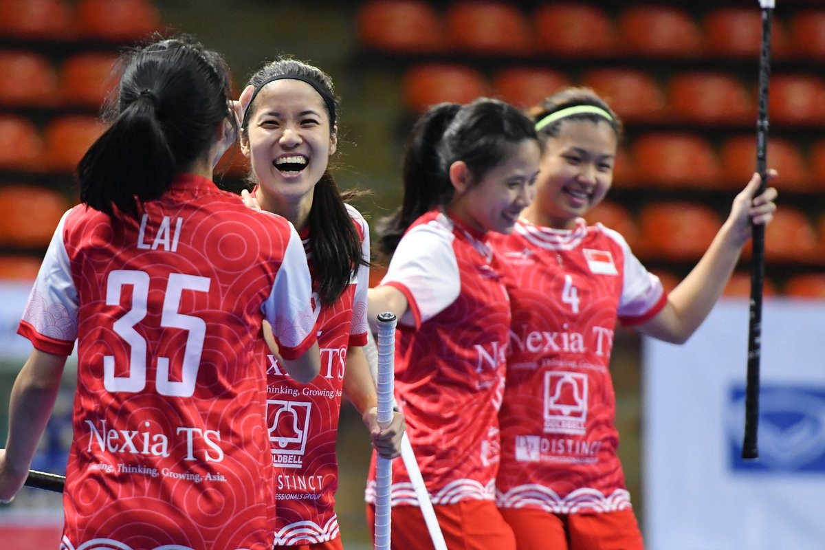 Thailand and Singapore take final Women's World Championships places at Asia Oceania Floorball Confederation qualifiers