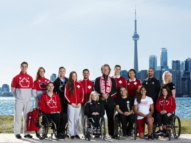 Canadian Olympic Committee partner unveils athlete uniforms for Toronto 2015