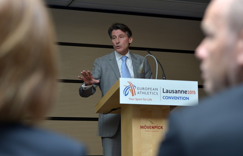 IAAF President Sebastian Coe today unveiled plans to set up a new integrity unit ©Getty Images