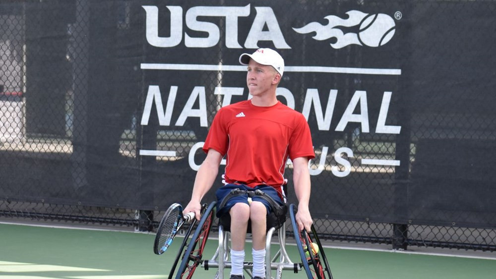 The United States' Casey Ratzlaff will look to help his team to victory tomorrow against Chile in the final of ITF World Team Cup Americas Qualifier in Orlando ©USTA