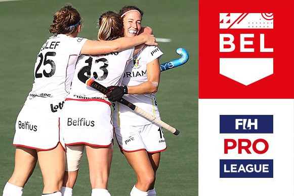 Belgium's women claim surprise win over New Zealand as FIH Pro League action continues